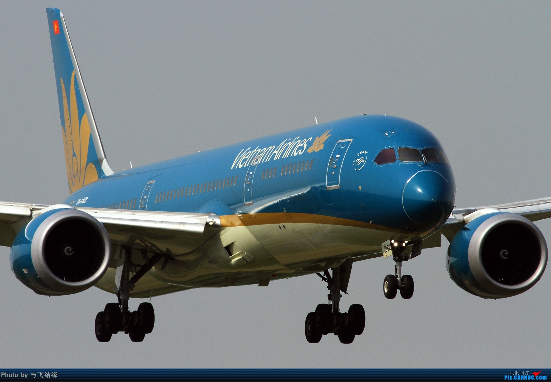 Re:近进中的波音787几图! BOEING 787-9  中国北京首都国际机场