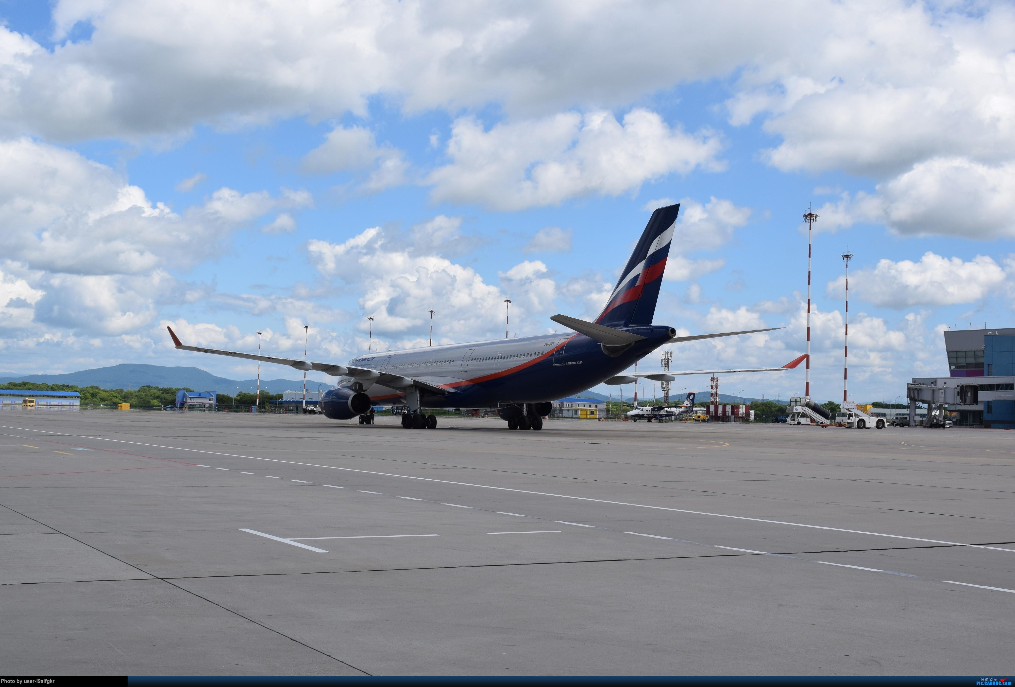 [原创]俄罗斯航空 海参崴 AIRBUS A330-343X VQ-BEL 俄罗斯符拉迪沃斯托克机场