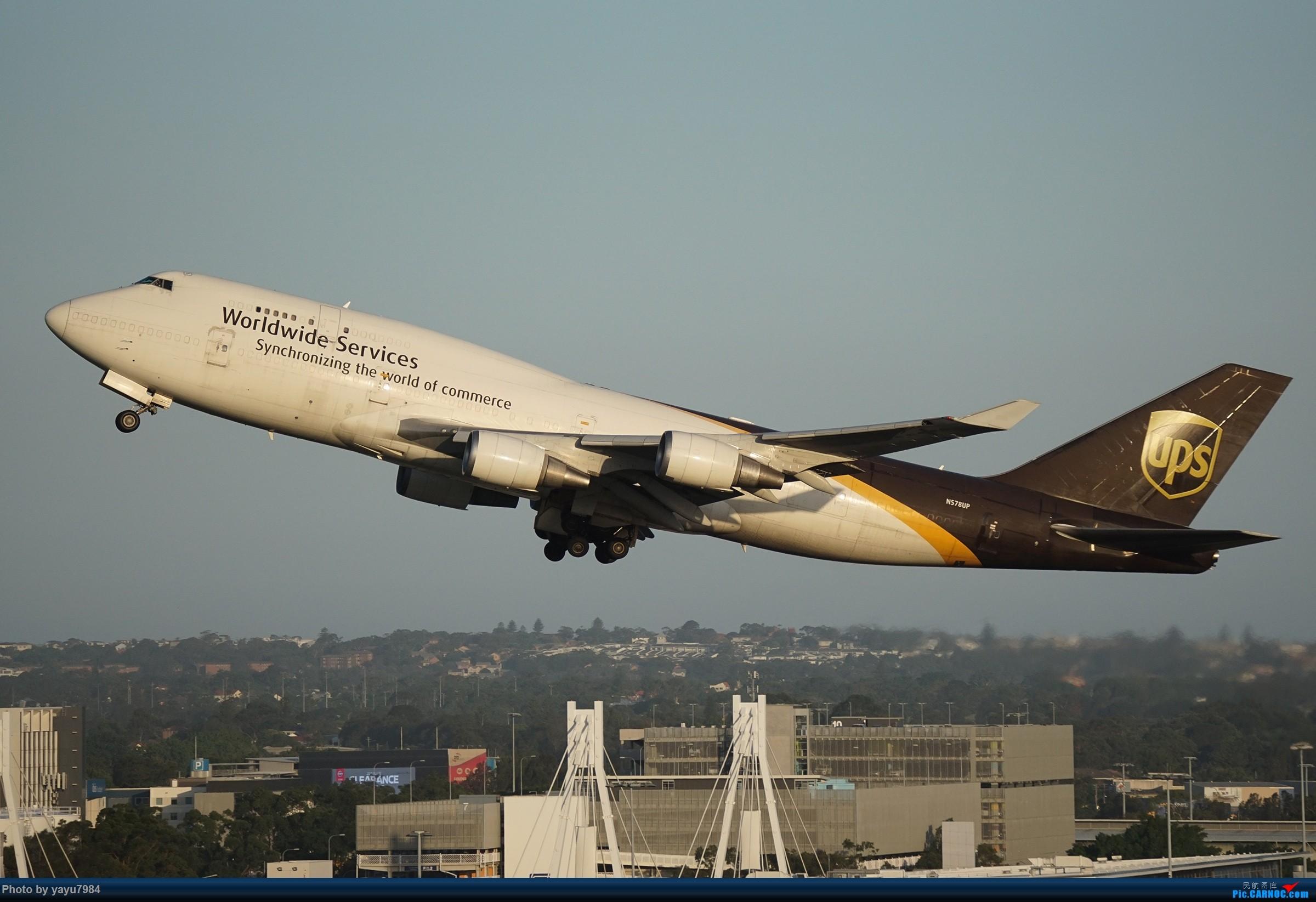 Re:[原创][SYD] 2019首拍,停车楼视角 BOEING 747-45E(BCF) N578UP 澳大利亚悉尼金斯福德·史密斯机场