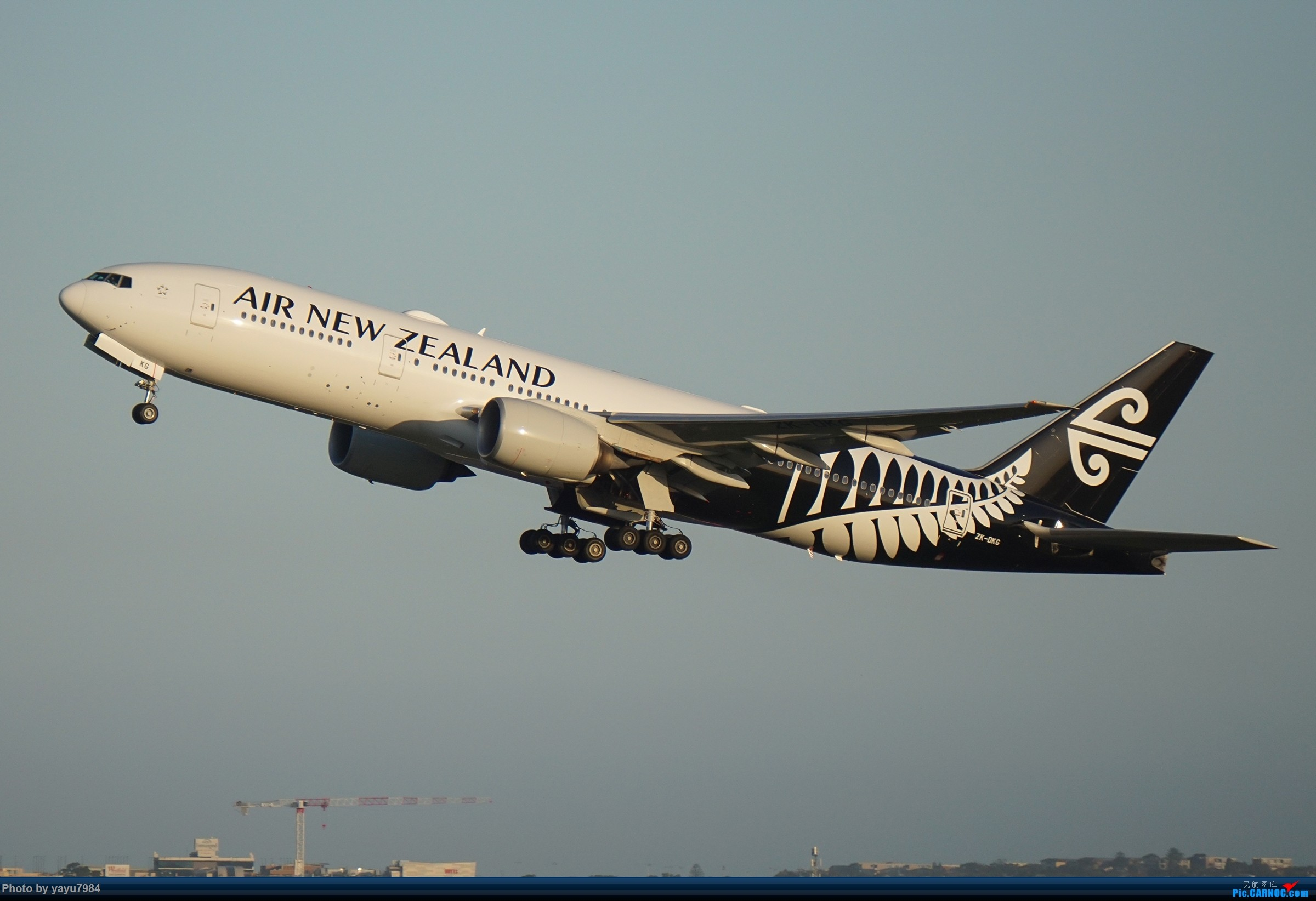 Re:[原创][SYD] 2019首拍,停车楼视角 BOEING 777-219(ER) ZK-OKG 澳大利亚悉尼金斯福德·史密斯机场