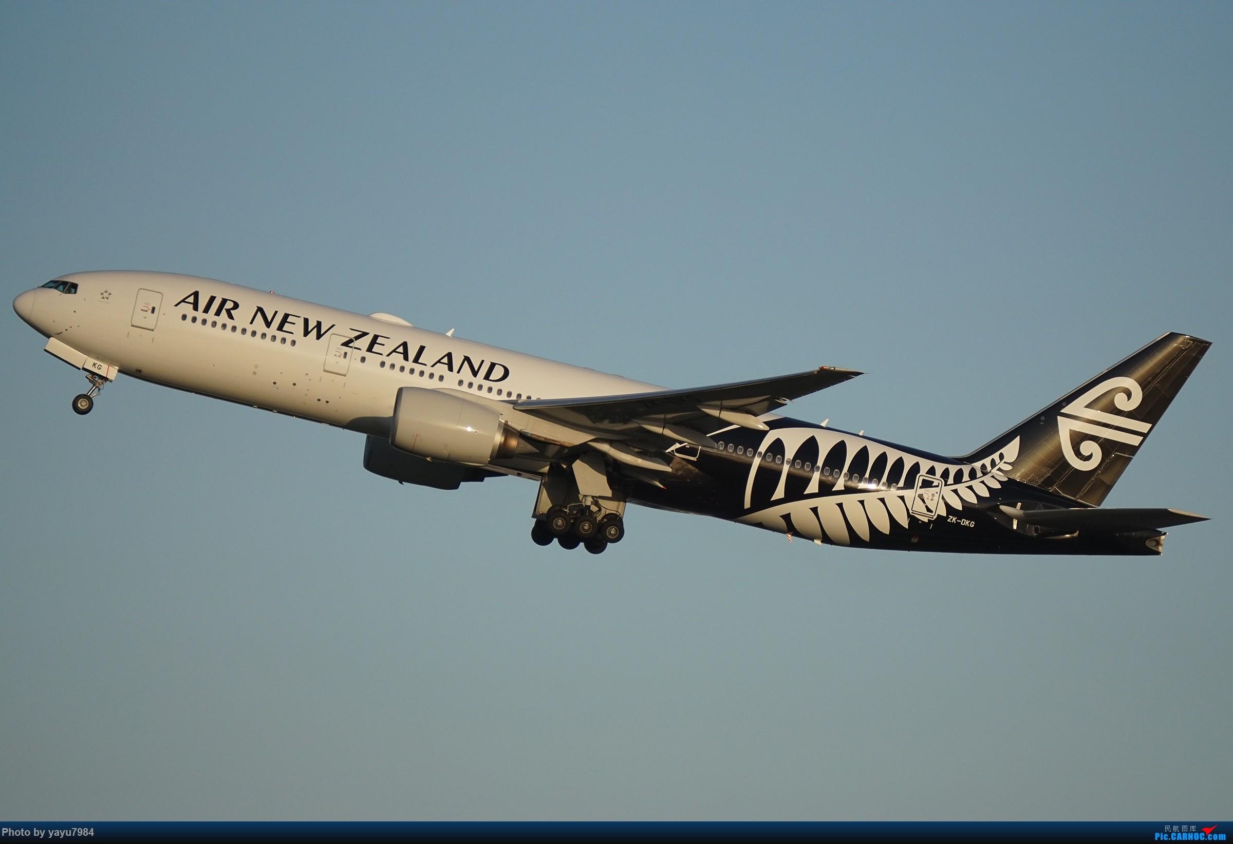 Re:[SYD] 2019首拍,停车楼视角 BOEING 777-219(ER) ZK-OKG 澳大利亚悉尼金斯福德·史密斯机场