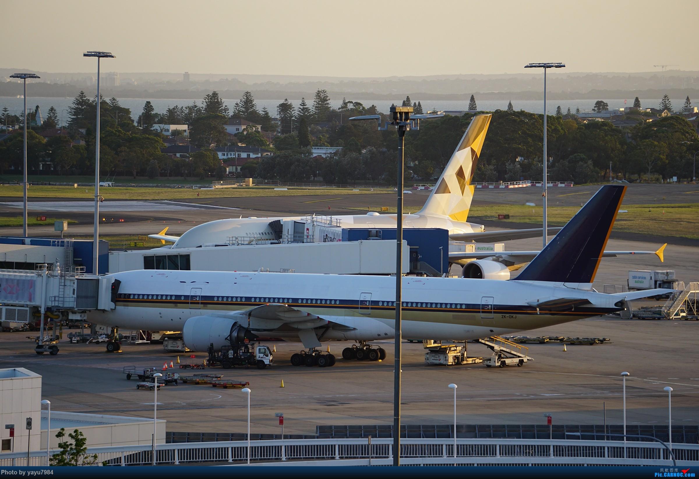 Re:[原创][SYD] 2019首拍,停车楼视角 BOEING 777-212(ER) ZK-OKJ 澳大利亚悉尼金斯福德·史密斯机场
