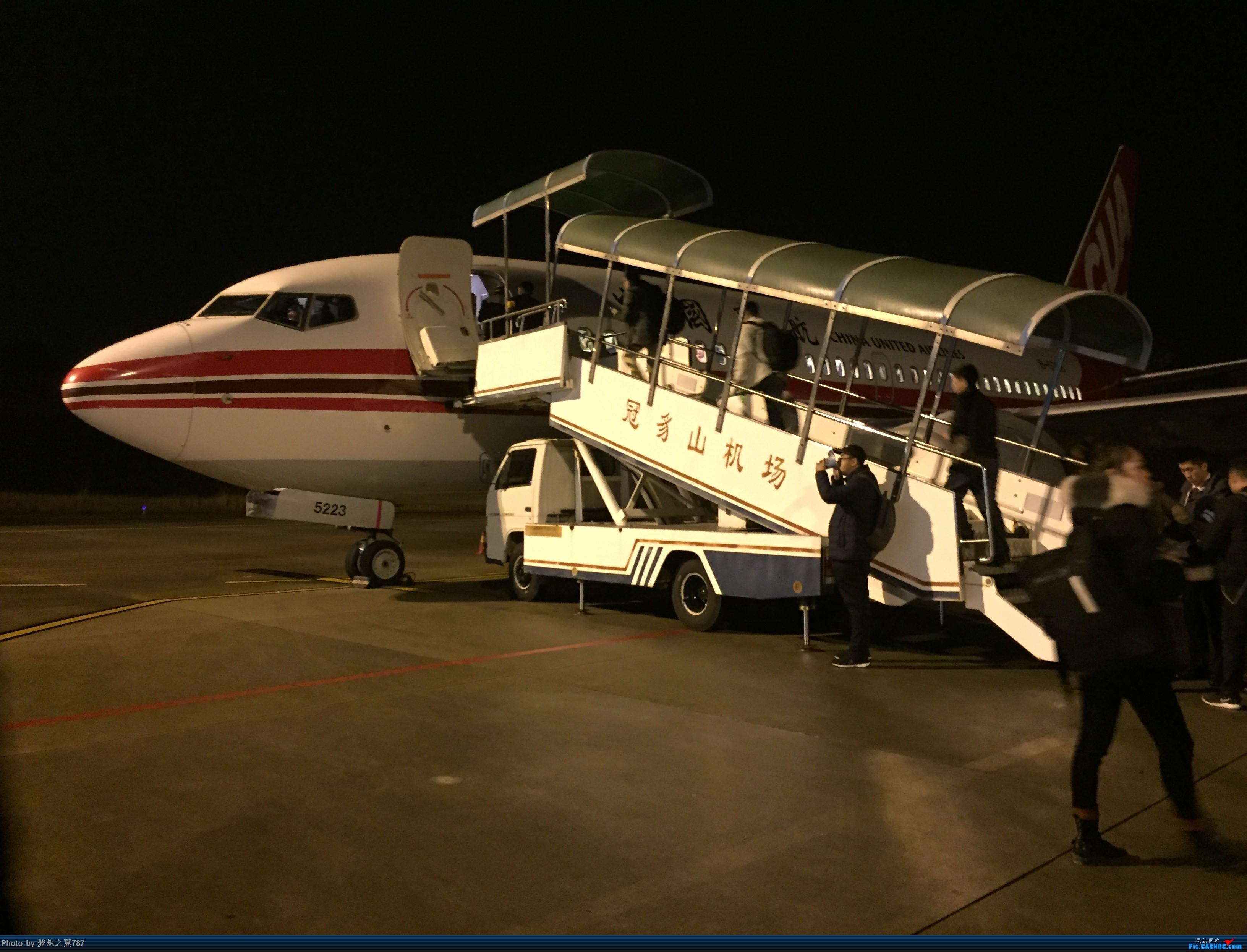 Re:中国联合航空 佛山-连城 往返 BOEING 737-700 B-5223 中国福建龙岩冠豸山机场