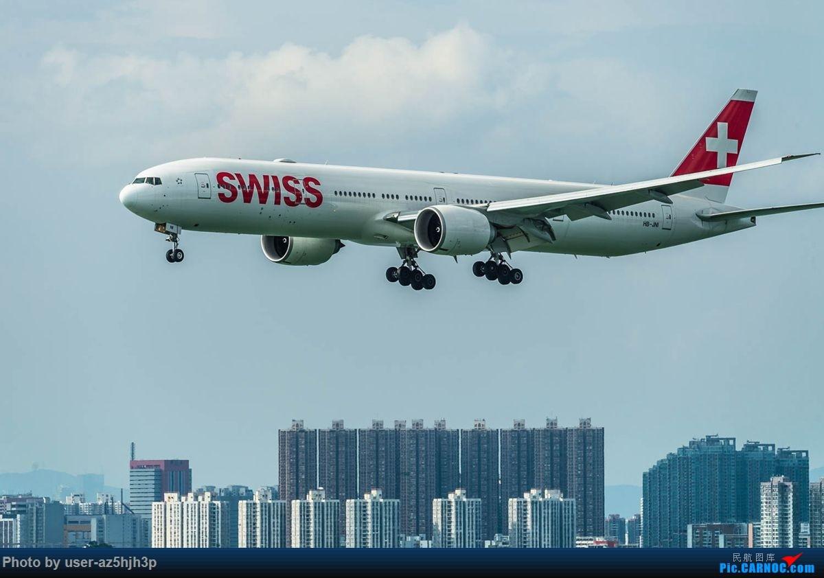 Re:杂片一组 BOEING 777-300ER HB-JNI 香港国际机场