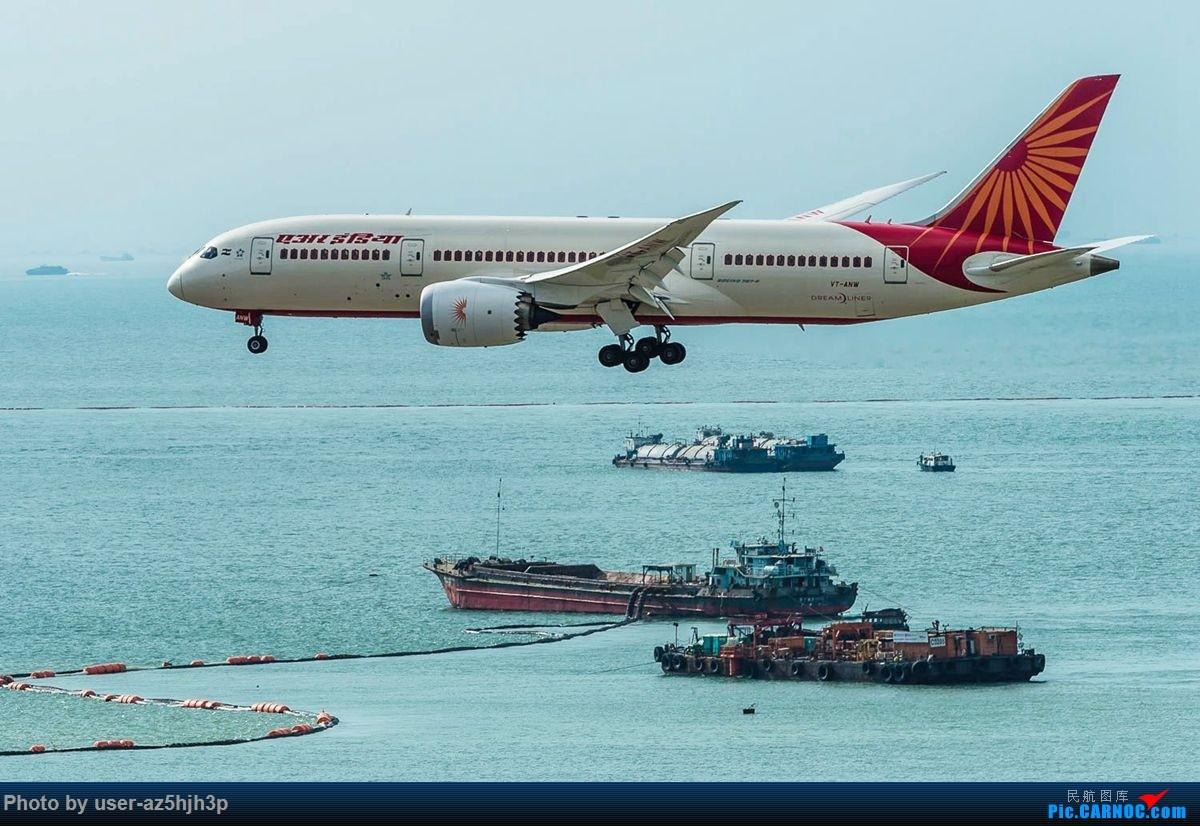 Re:杂片一组 BOEING 787-8 VT-ANW 香港国际机场