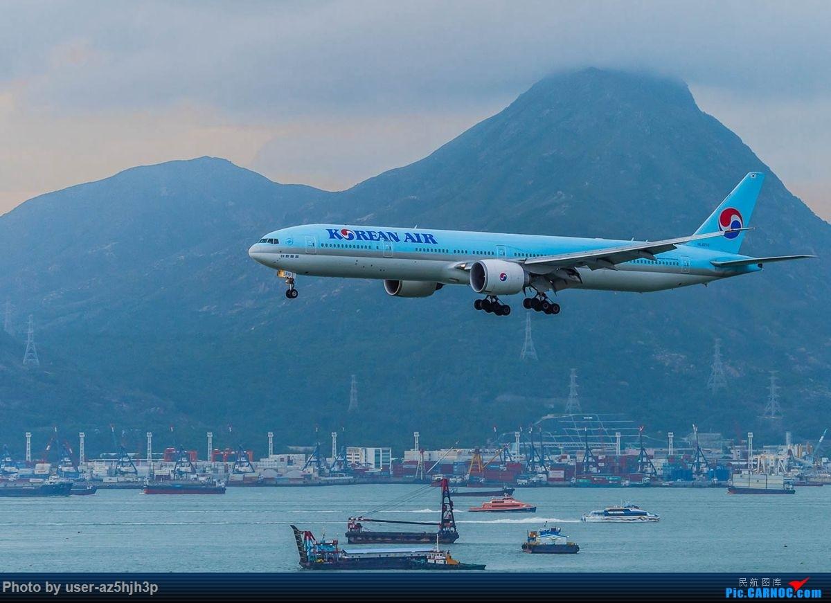 Re:杂片一组 BOEING 777-300ER HL8210 香港国际机场
