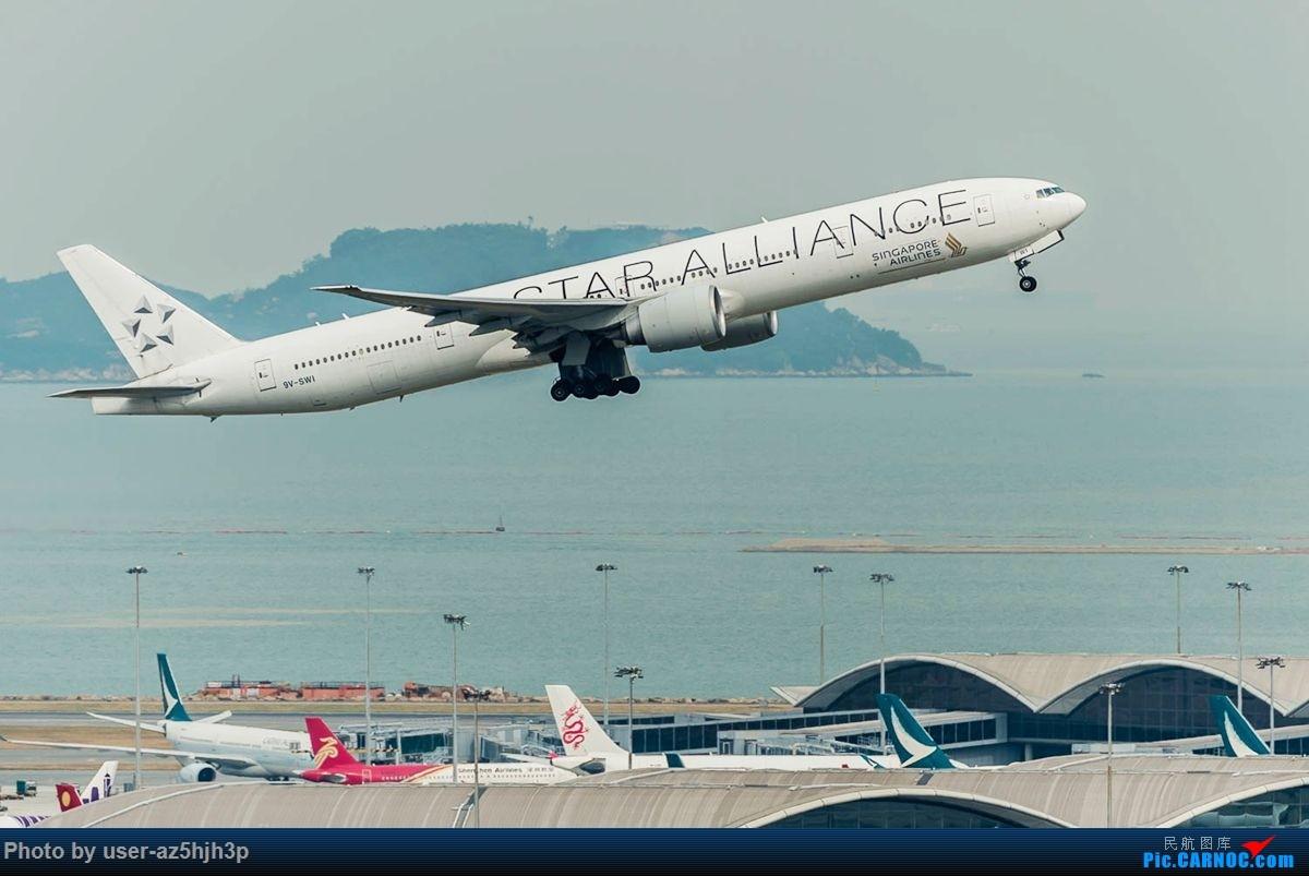 Re:杂片一组 BOEING 777-300ER 9V-SWI 香港国际机场