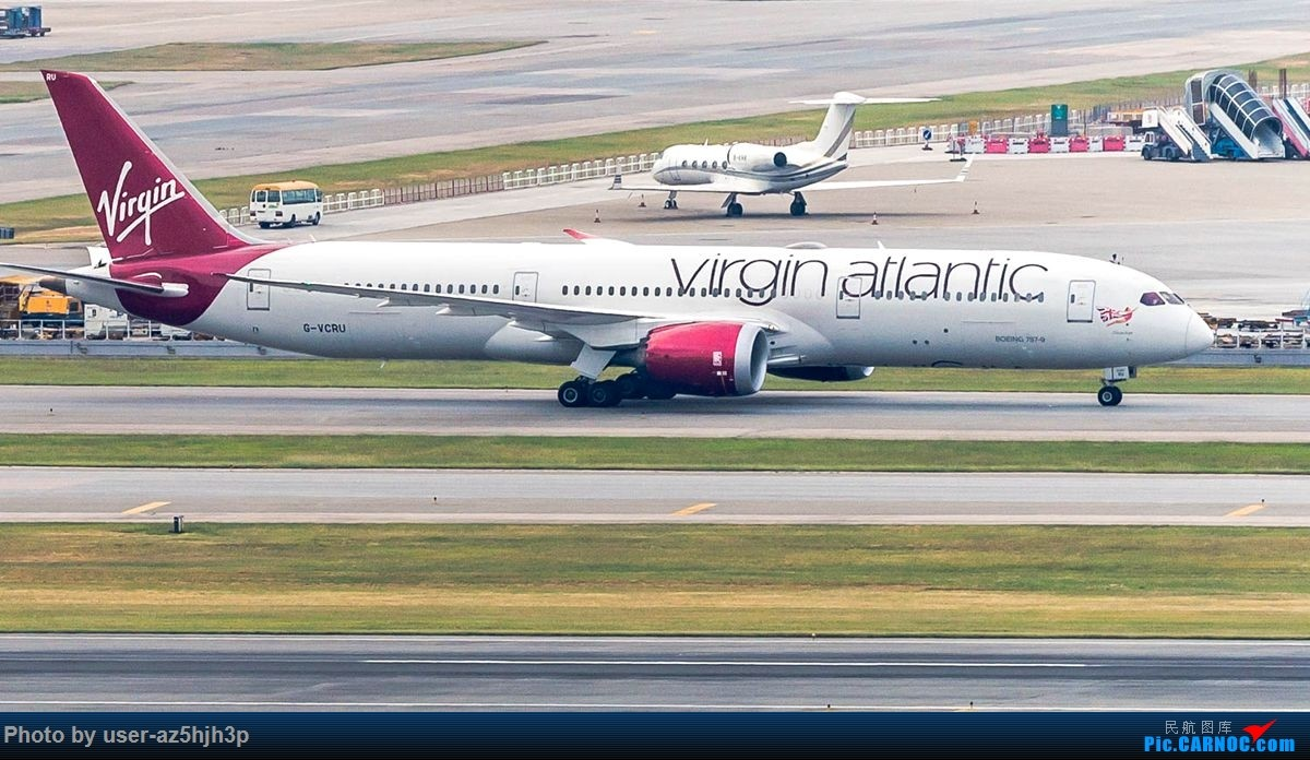 Re:杂片一组 BOEING 787-9 G-VCRU 香港国际机场