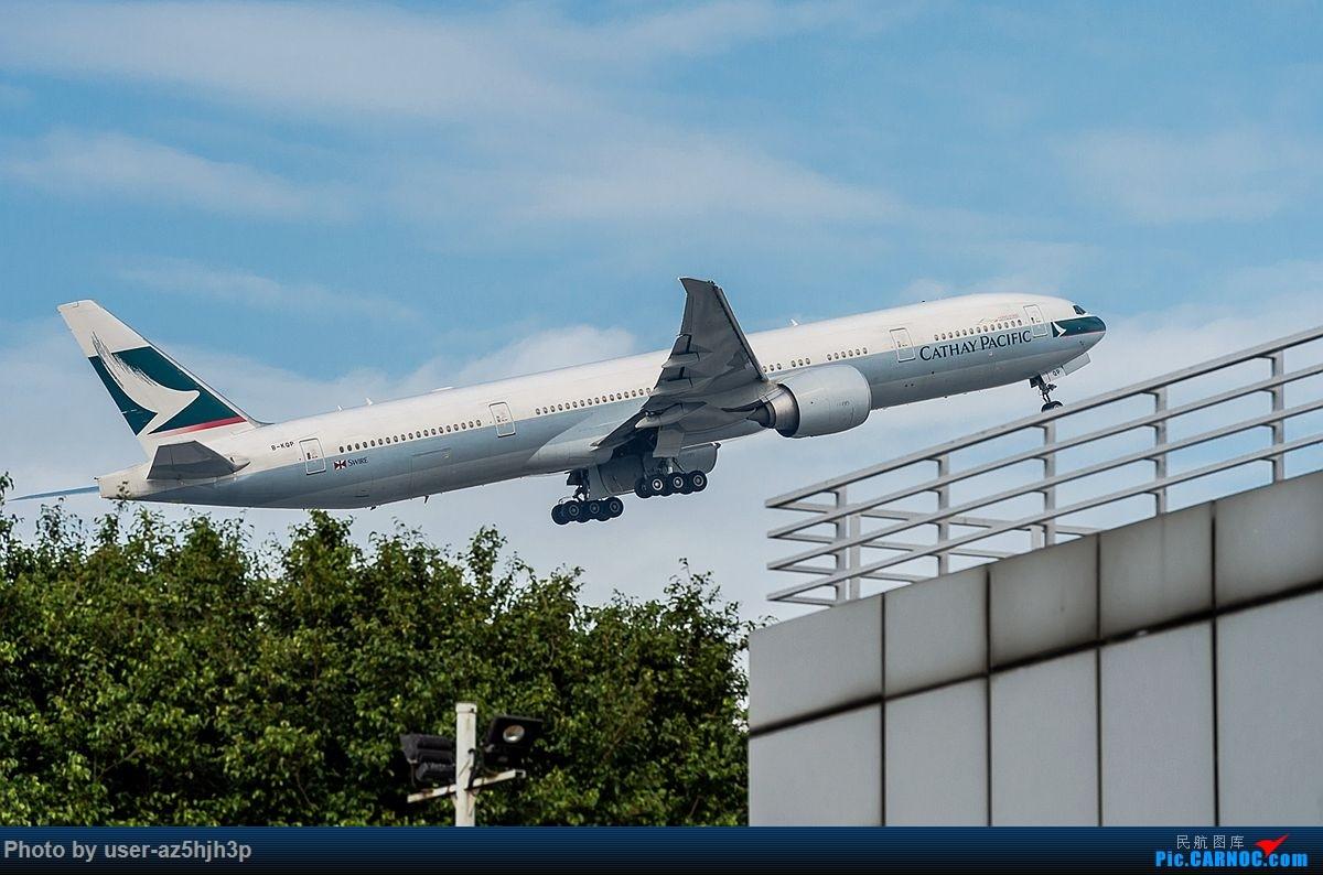 Re:杂片一组 BOEING 777-300ER B-KQP 香港国际机场
