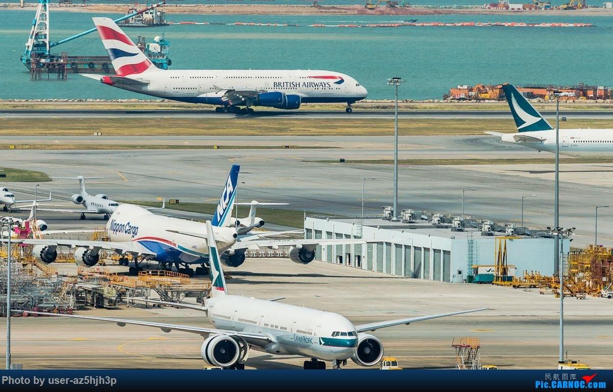 Re:杂片一组 AIRBUS A380 C-XLEJ 香港国际机场