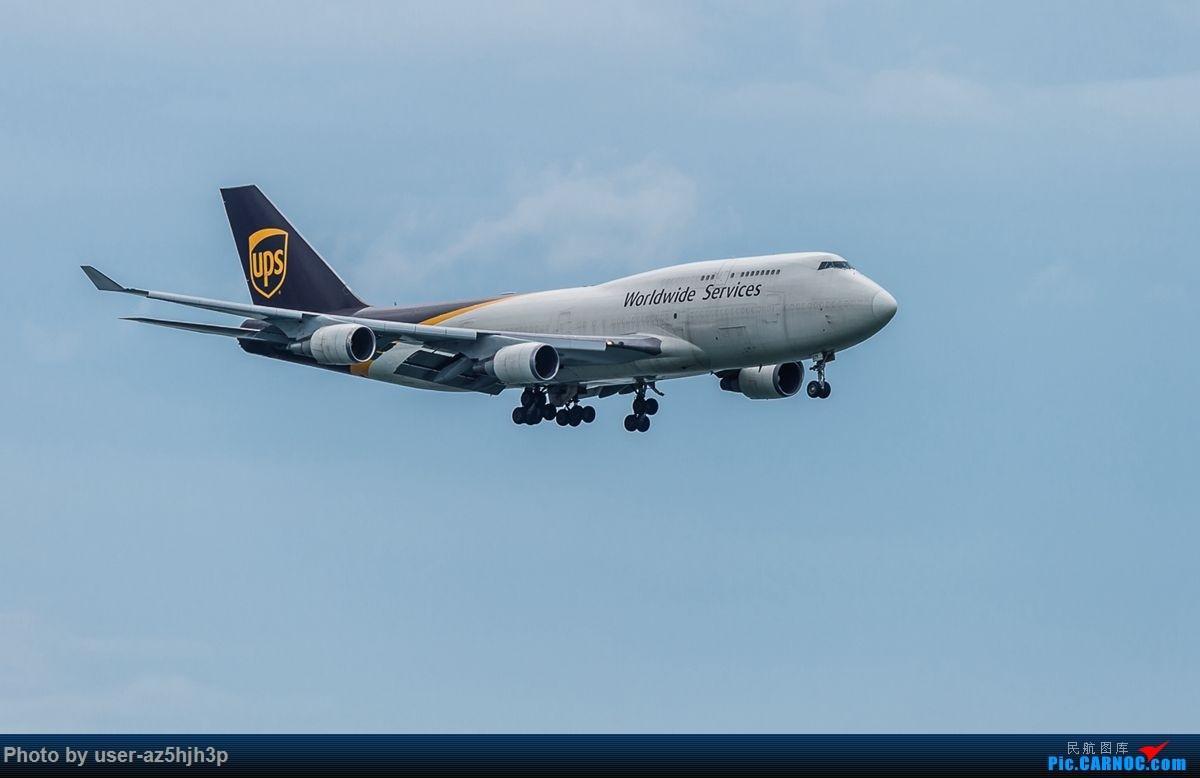 Re:杂片一组 BOEING 747-400 N-579UP 香港国际机场