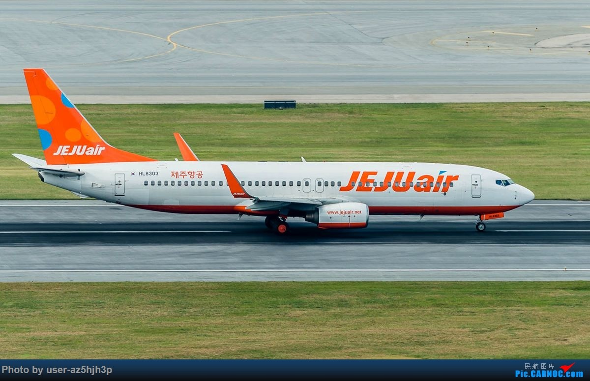 Re:杂片一组 BOEING 737-800 HL8303 香港国际机场
