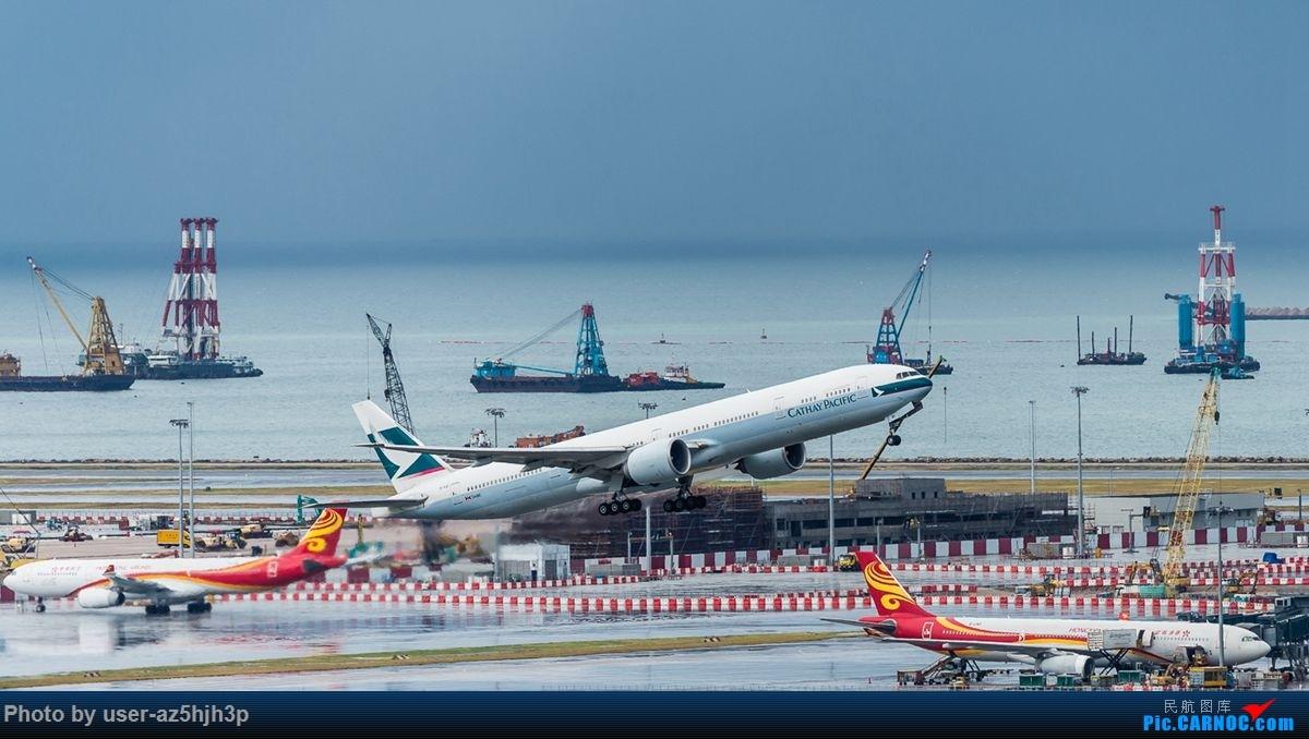 Re:杂片一组 BOEING 777-300ER B-KQI 香港国际机场