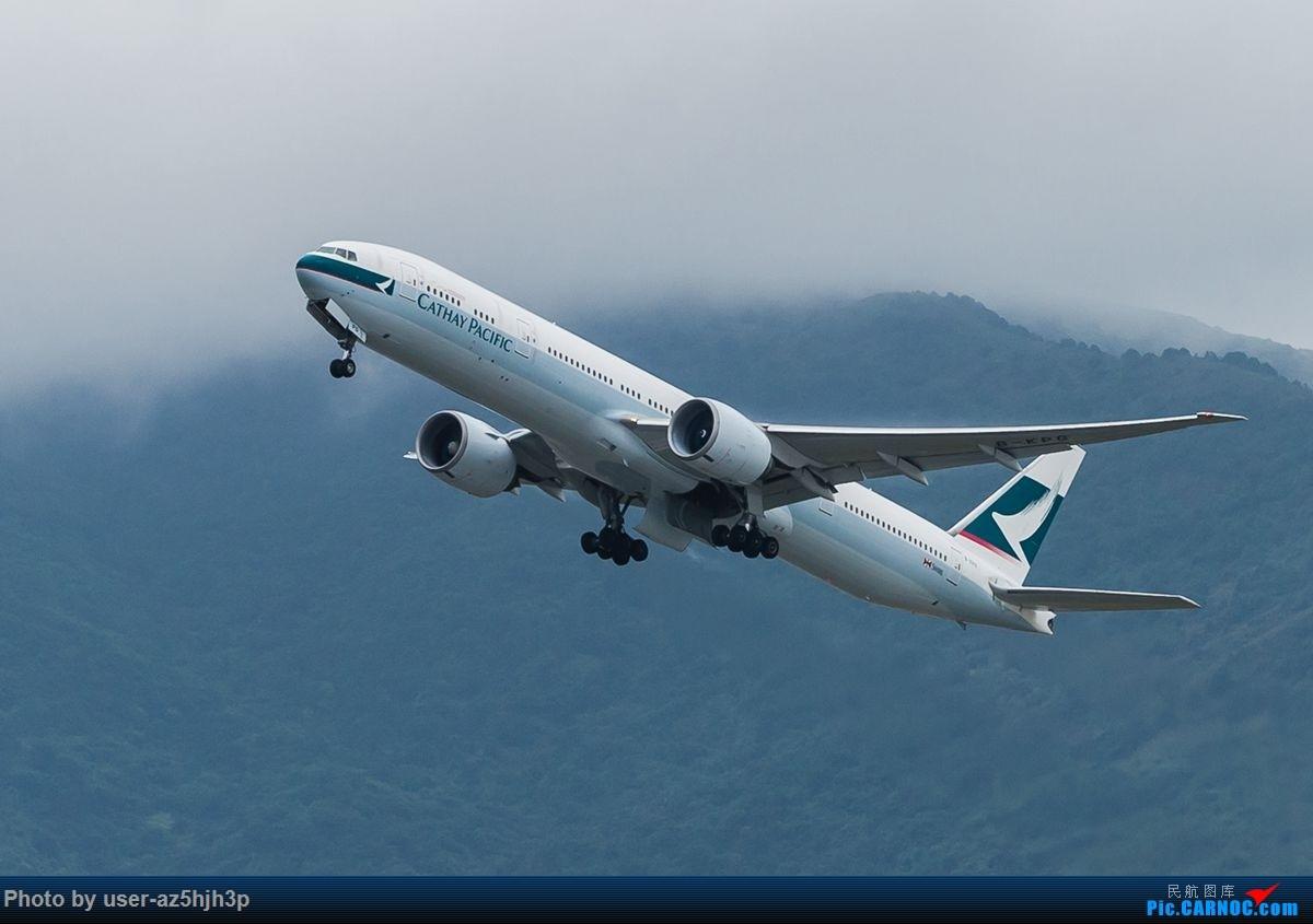 Re:杂片一组 BOEING 777-300ER B-KPG 香港国际机场