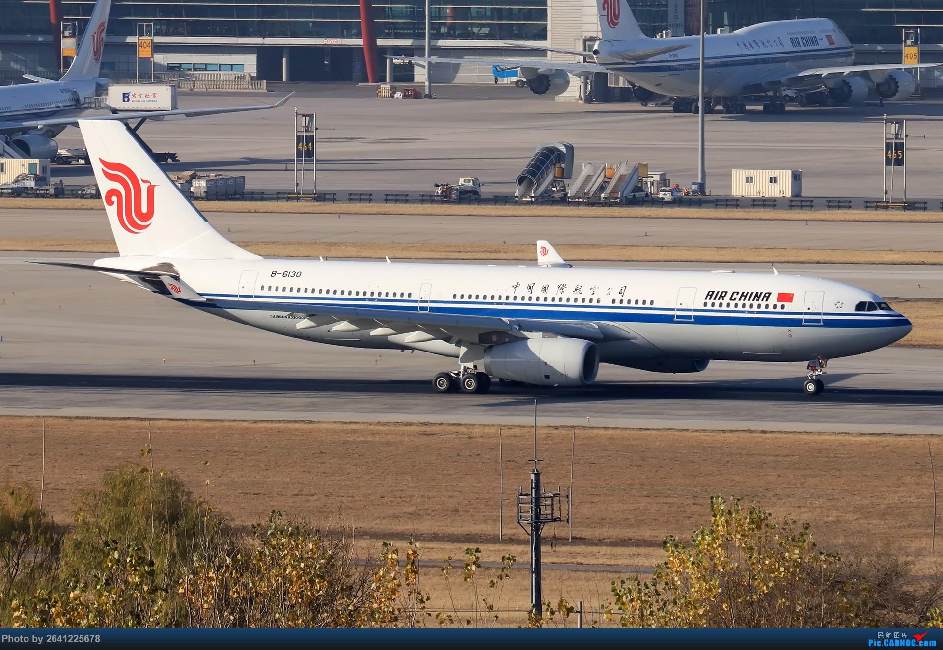 Re:[原创]【ZBAA】好久没发帖,随便来一组 AIRBUS A330-200 B-6130 中国北京首都国际机场