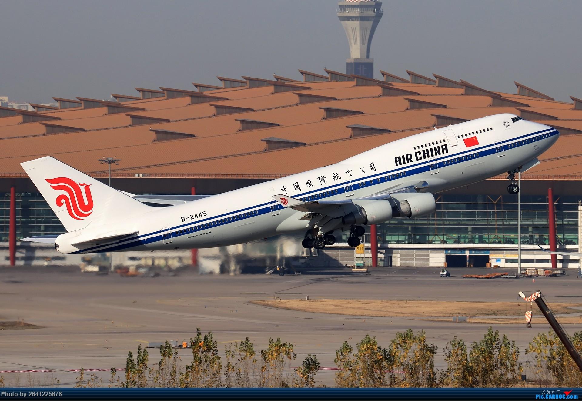 Re:[原创]【ZBAA】好久没发帖,随便来一组 BOEING 747-400 B-2445 中国北京首都国际机场