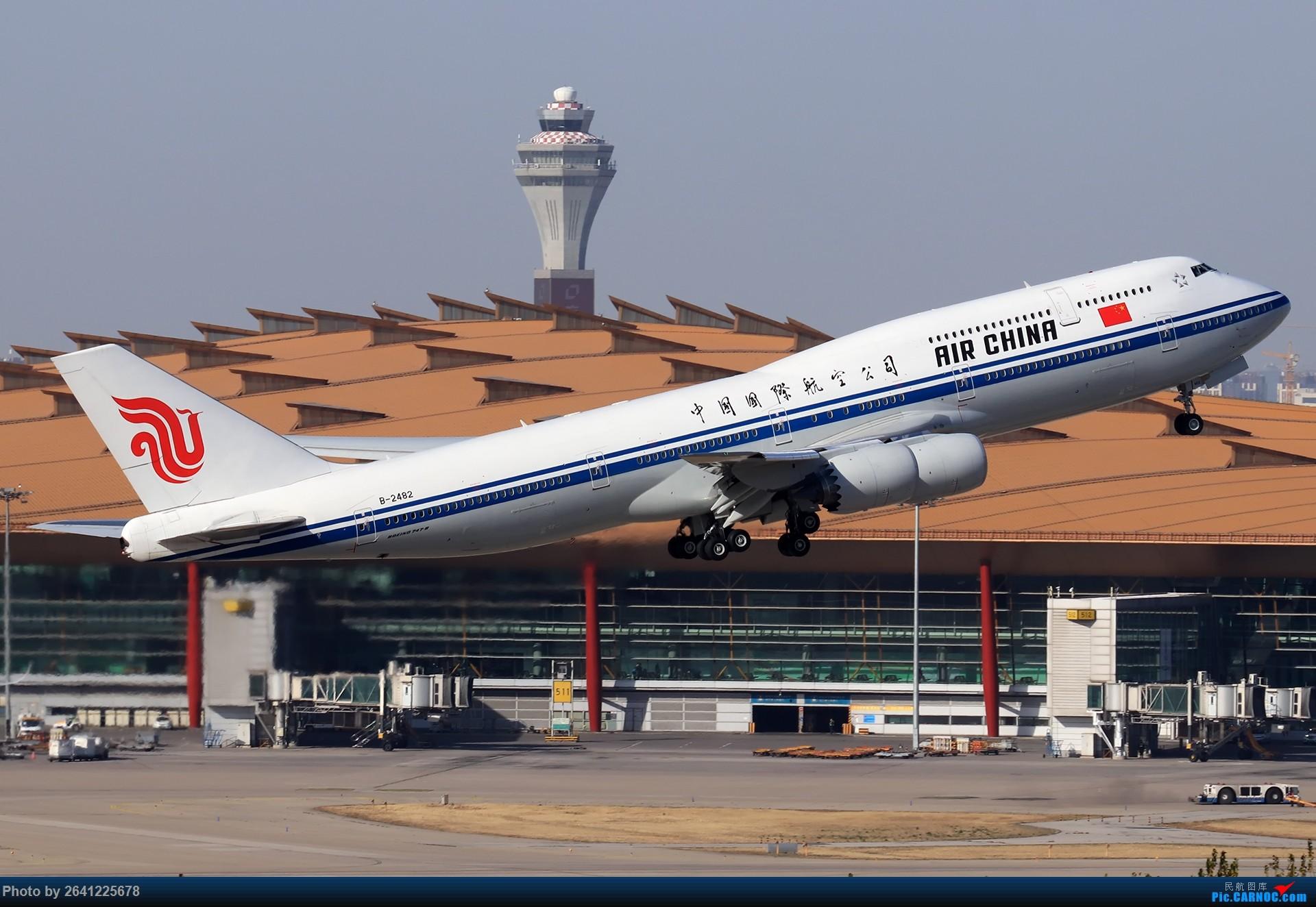 Re:[原创]【ZBAA】好久没发帖,随便来一组 BOEING 747-8I B-2482 中国北京首都国际机场