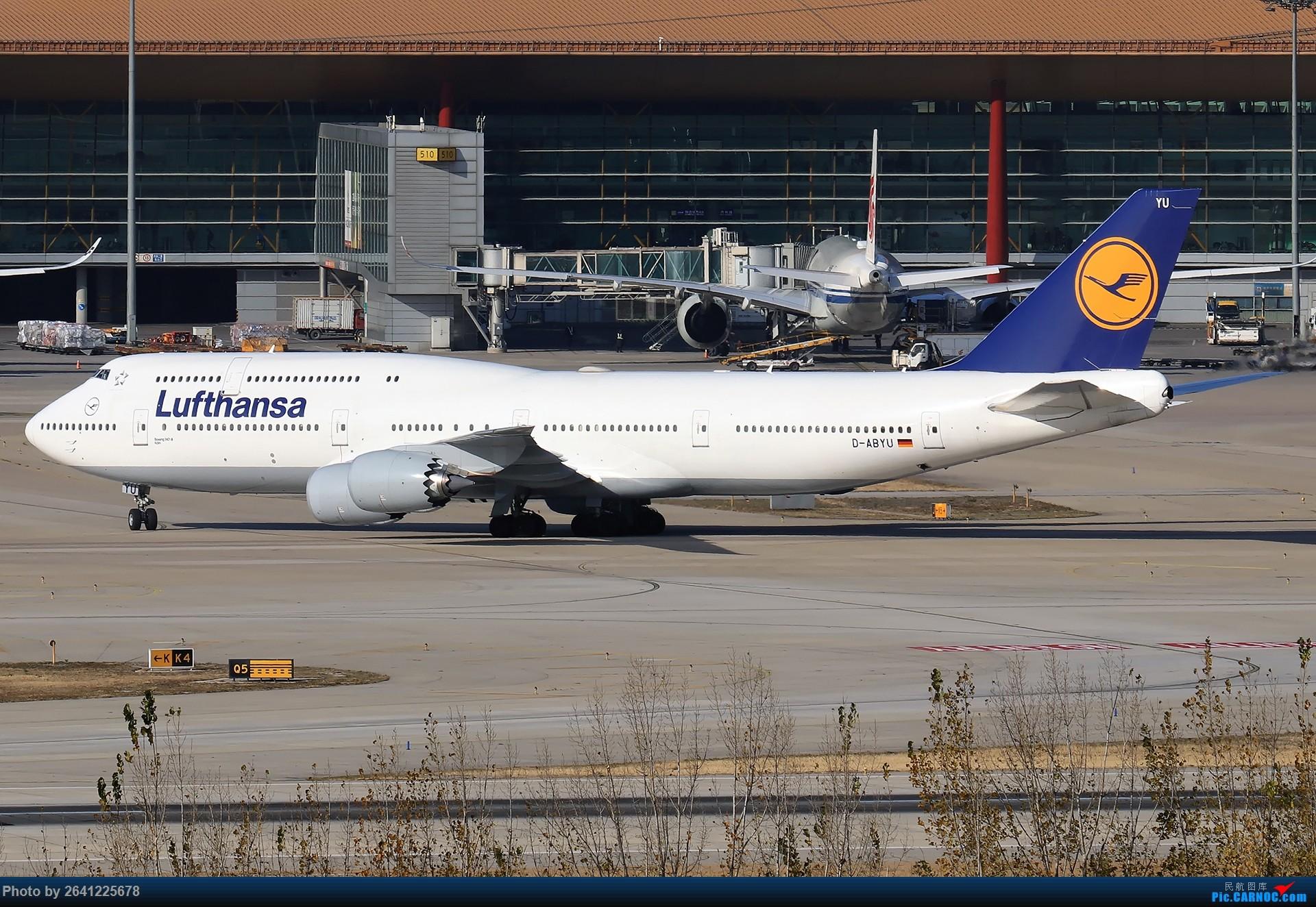 Re:[原创]【ZBAA】好久没发帖,随便来一组 BOEING 747-8I D-ABYU 中国北京首都国际机场