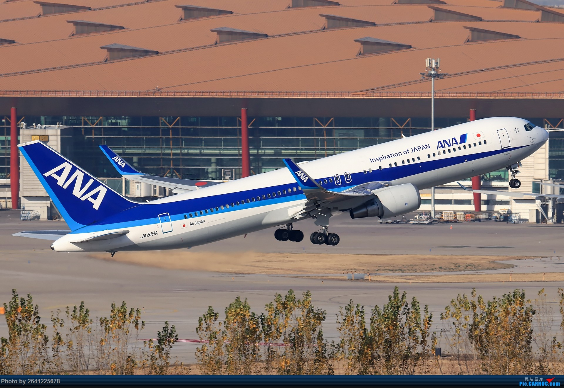 Re:[原创]【ZBAA】好久没发帖,随便来一组 BOEING 767-300ER JA619A 中国北京首都国际机场