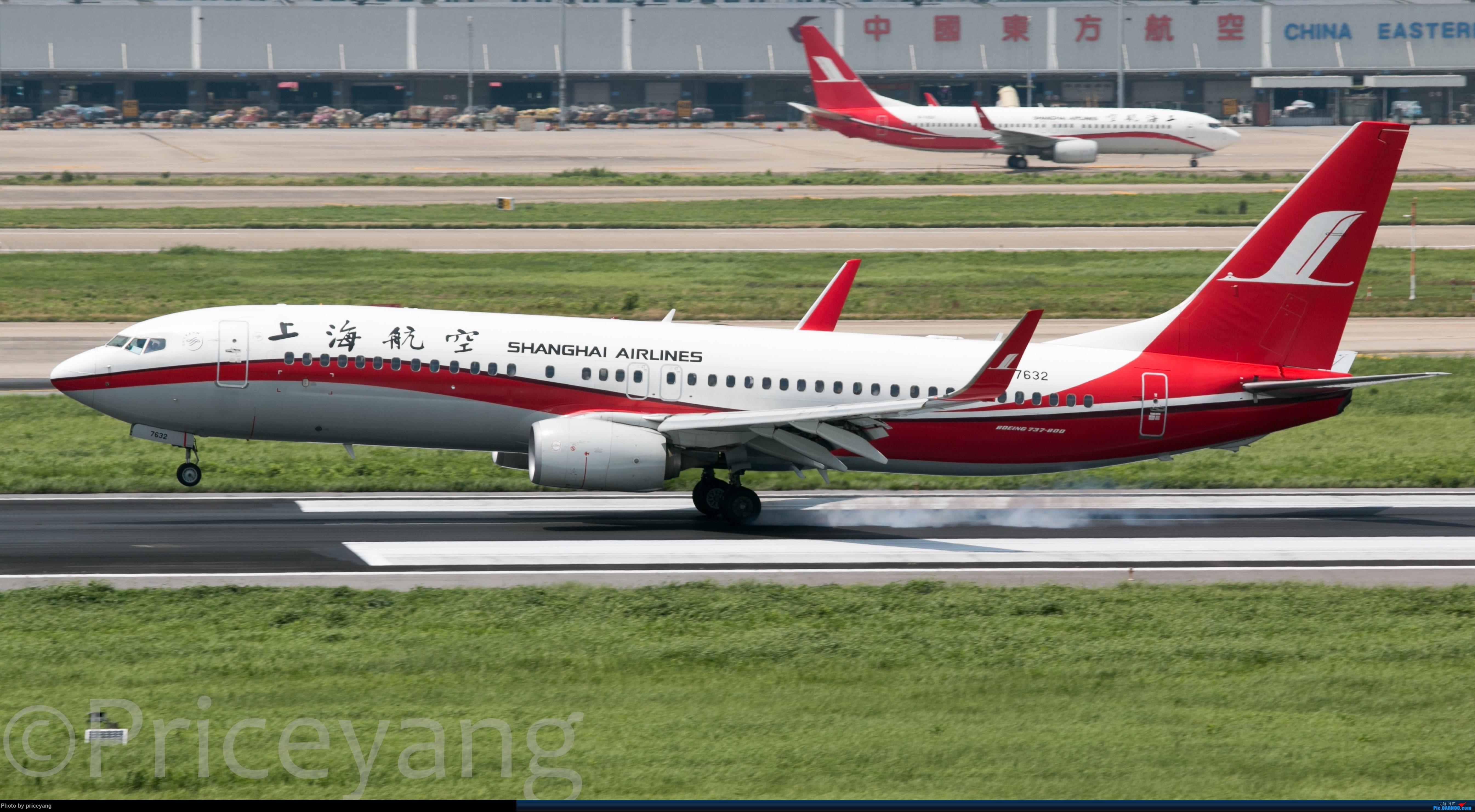 Re:[原创]【梁泽希拍机故事2】2018年第一次拍机 BOEING 737-800 B-7632 中国上海虹桥国际机场
