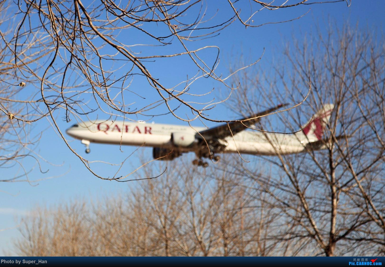 Re:[原创]1月17日PEK BOEING 777-300ER A7-BEV 中国北京首都国际机场