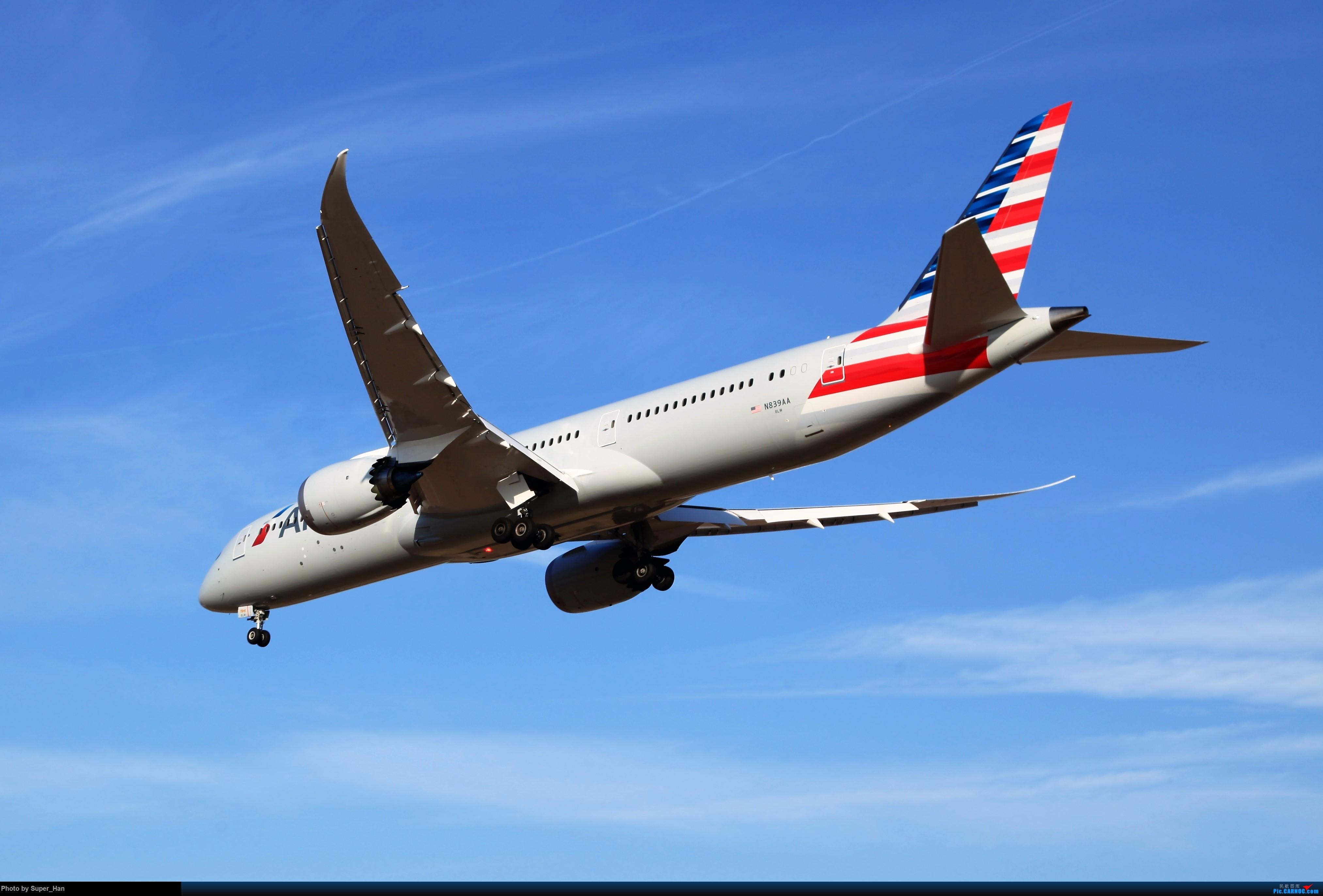 Re:[原创]1月17日PEK BOEING 787-9 N839AA 中国北京首都国际机场
