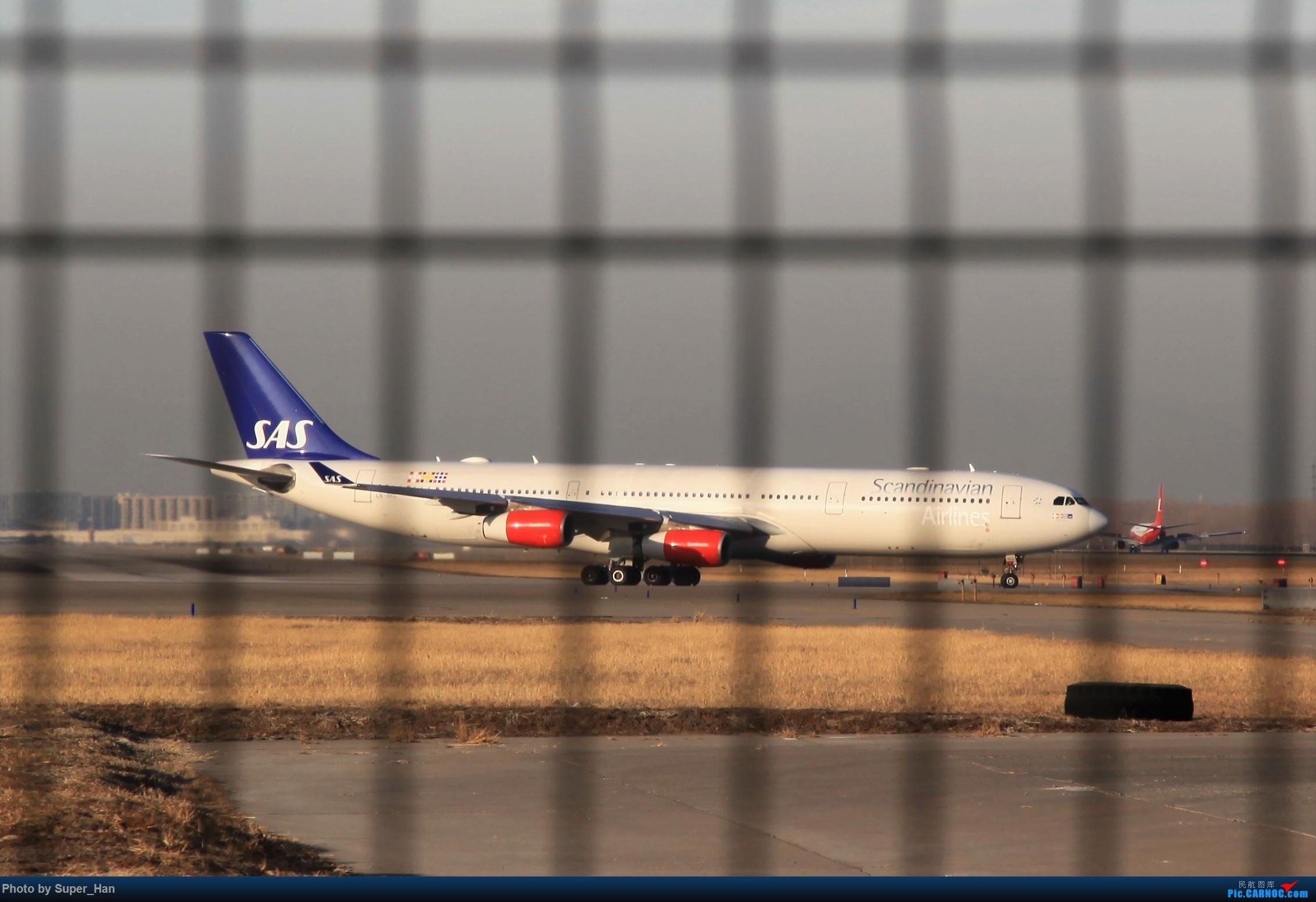 Re:[原创]1月17日PEK AIRBUS A340-300 LN-RKG 中国北京首都国际机场