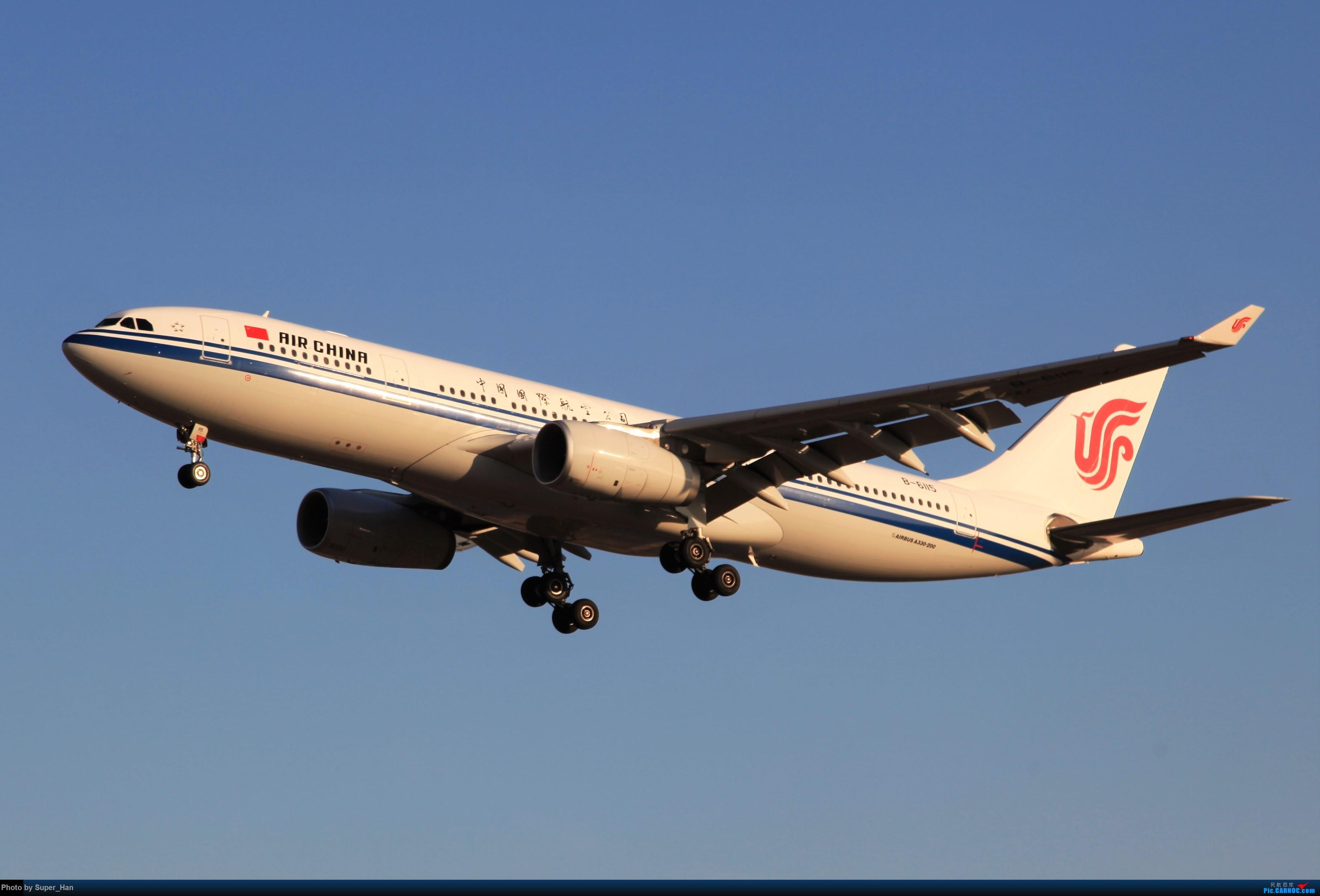 Re:[原创]1月17日PEK AIRBUS A330-200 B-6115 中国北京首都国际机场
