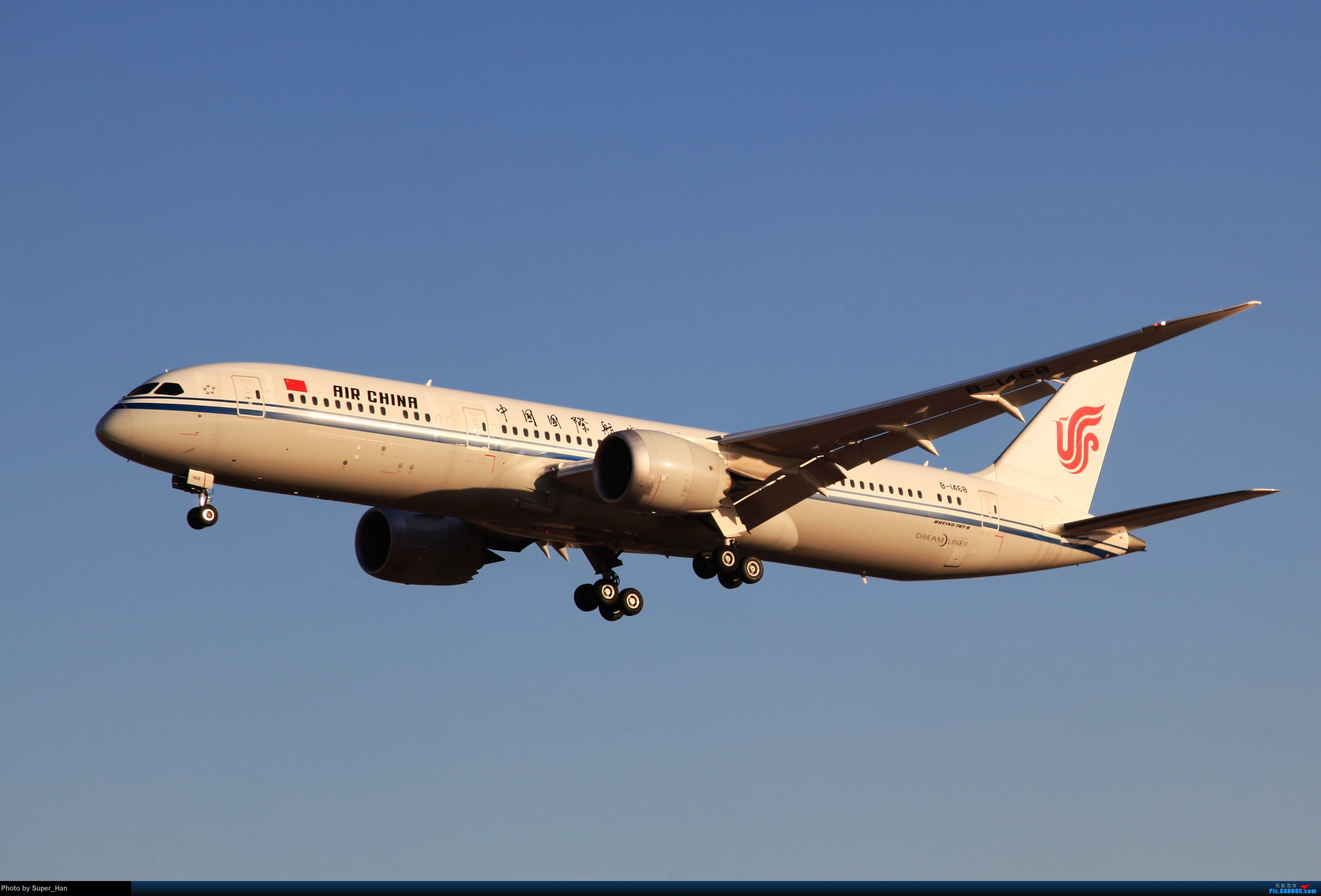 Re:[原创]1月17日PEK BOEING 787-9 B-1468 中国北京首都国际机场