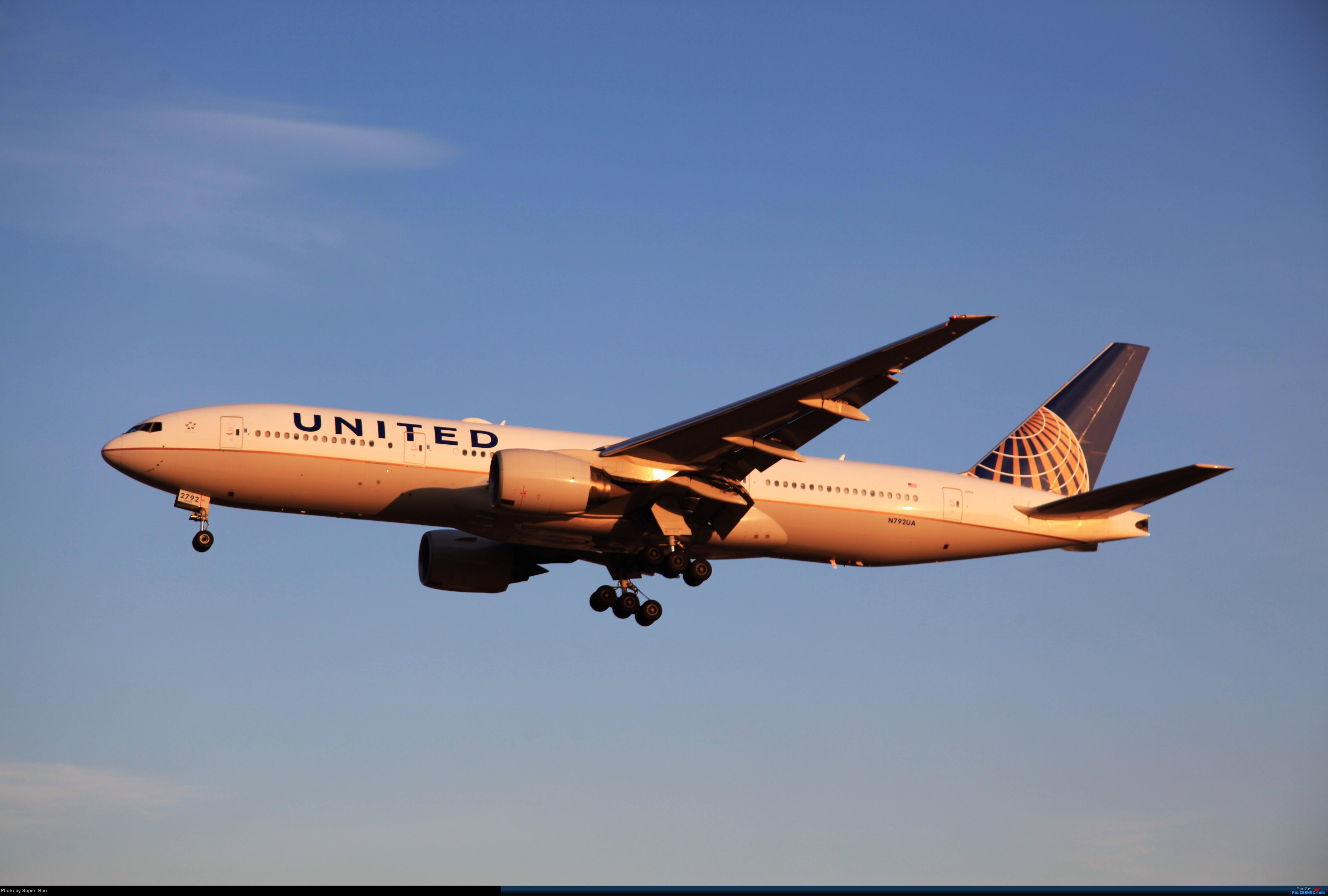 Re:[原创]1月17日PEK BOEING 777-200ER N792UA 中国北京首都国际机场
