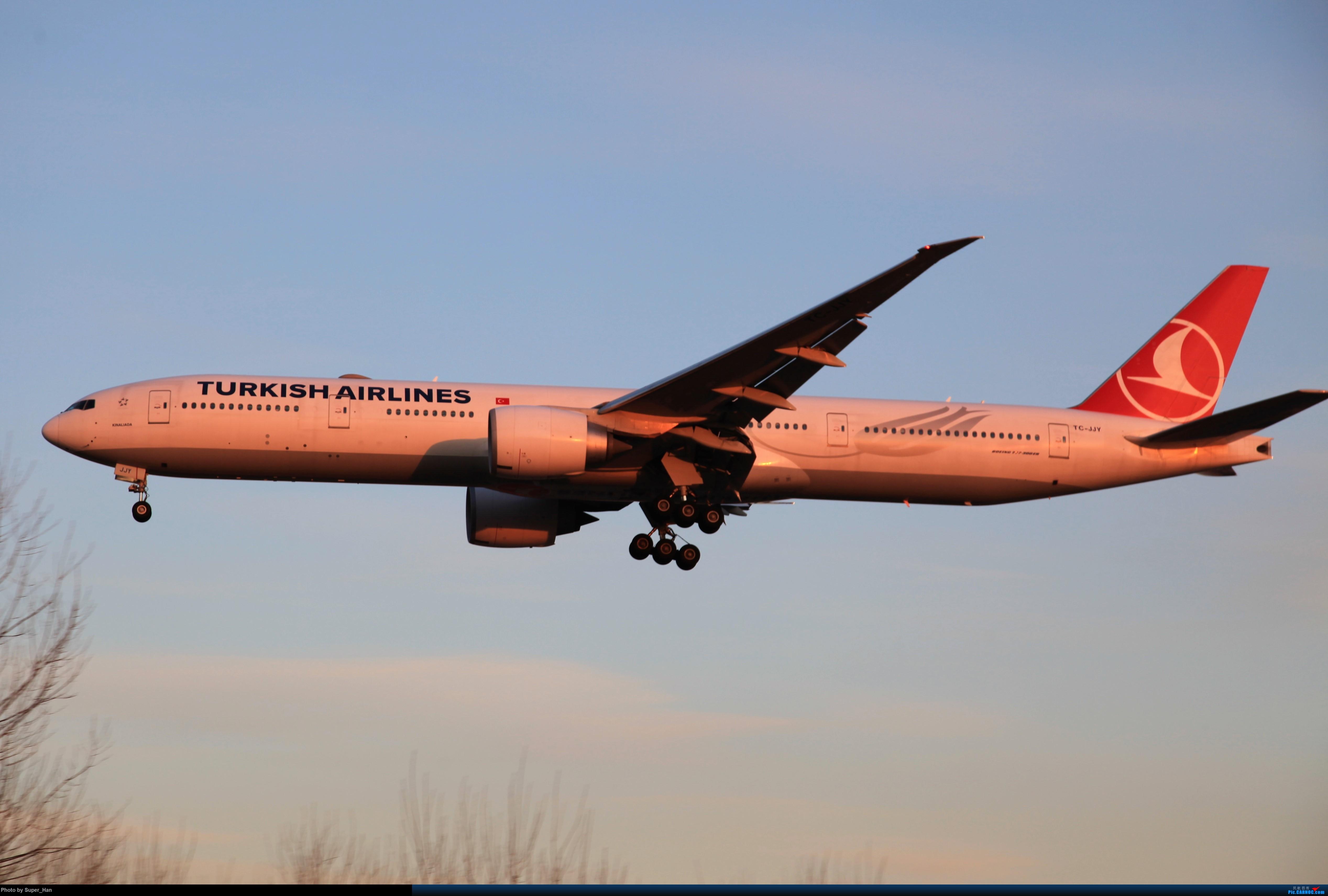 Re:[原创]1月17日PEK BOEING 777-300ER TC-JJY 中国北京首都国际机场