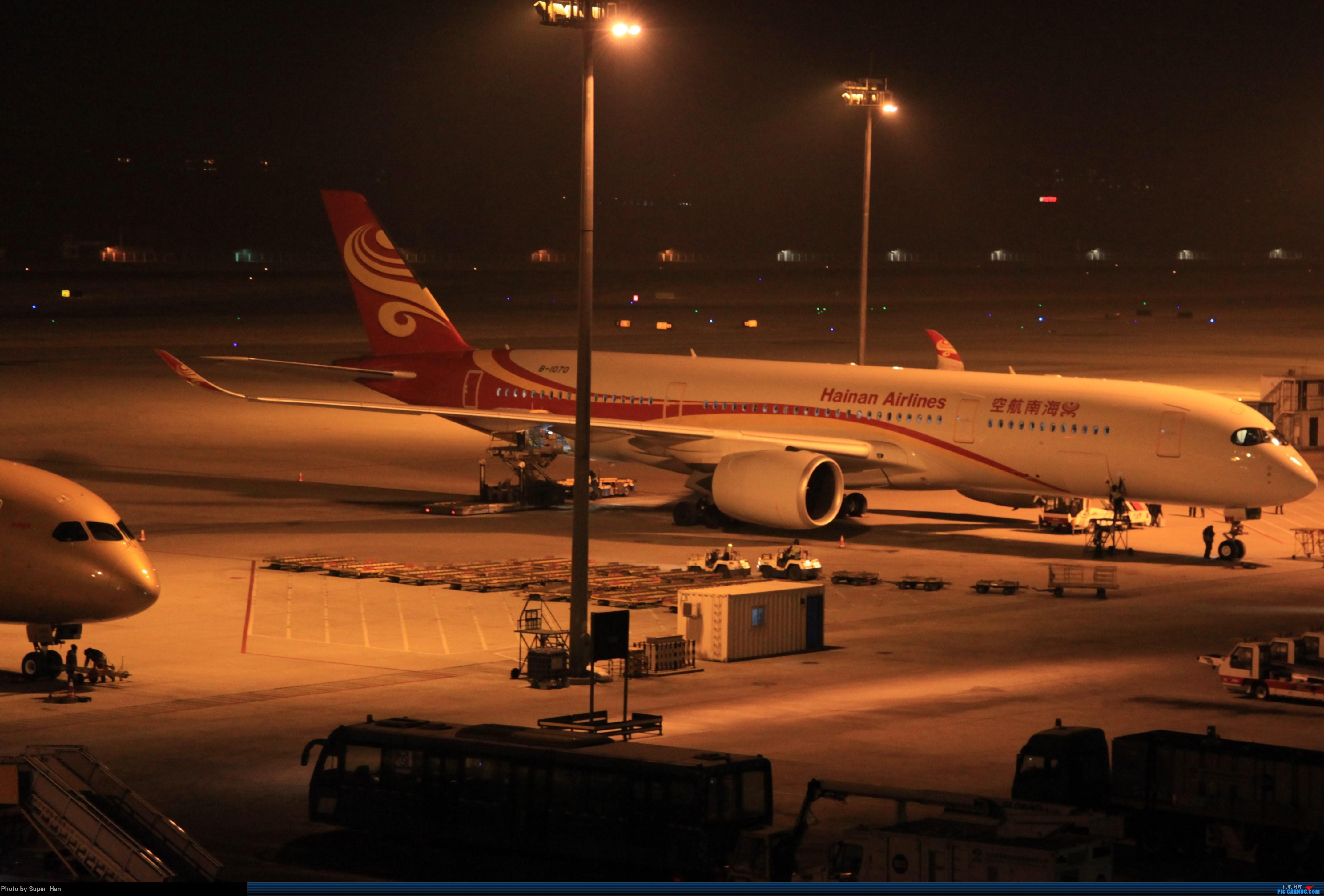 Re:[原创]1月17日PEK AIRBUS A350-900 B-1070 中国北京首都国际机场