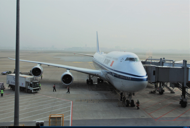 [原创]2019虹桥出发飞北京第一拍 BOEING 747-8I B-2482 中国上海虹桥国际机场