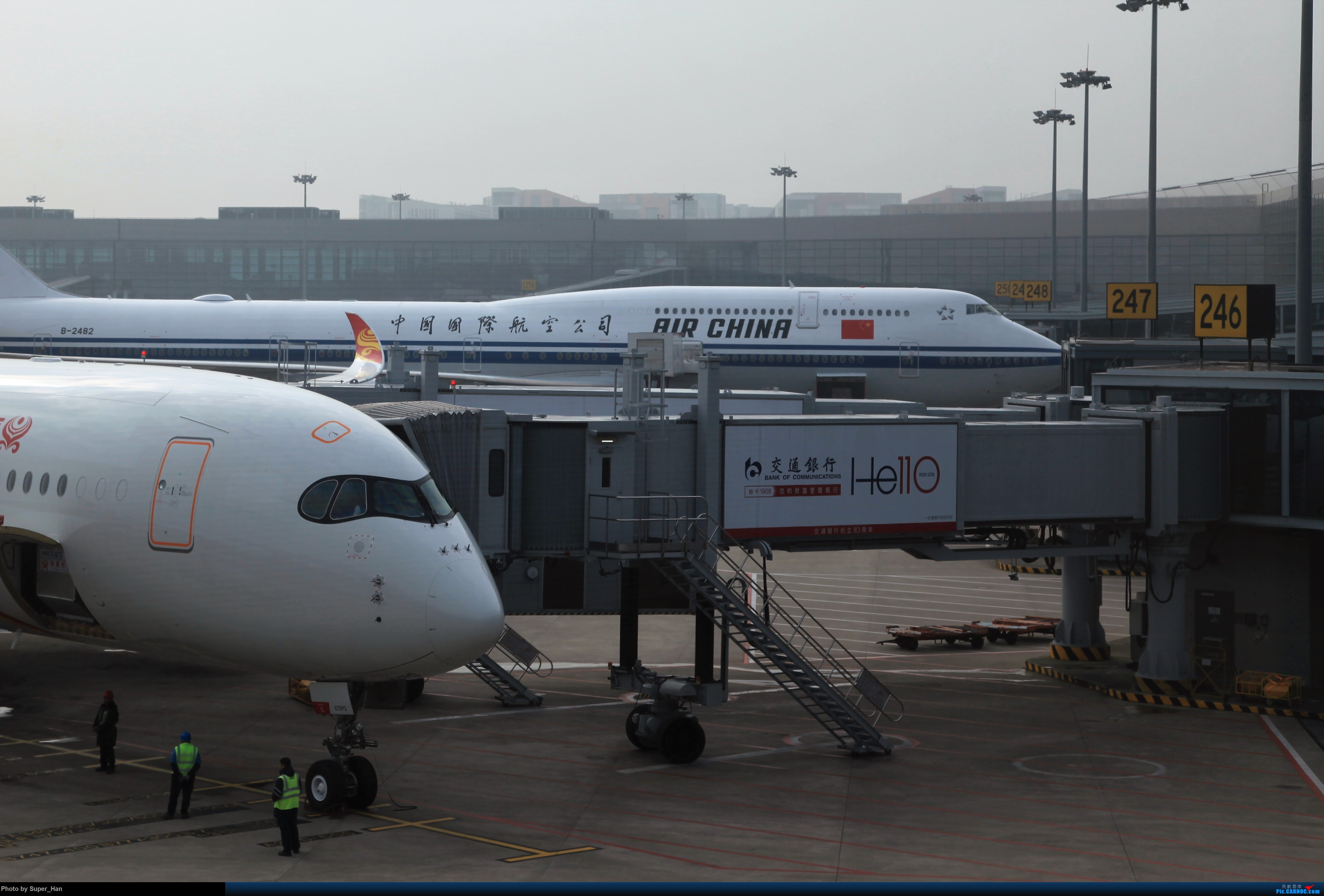 Re:[原创]2019虹桥出发飞北京第一拍 AIRBUS A350-900 B-1070 中国上海虹桥国际机场