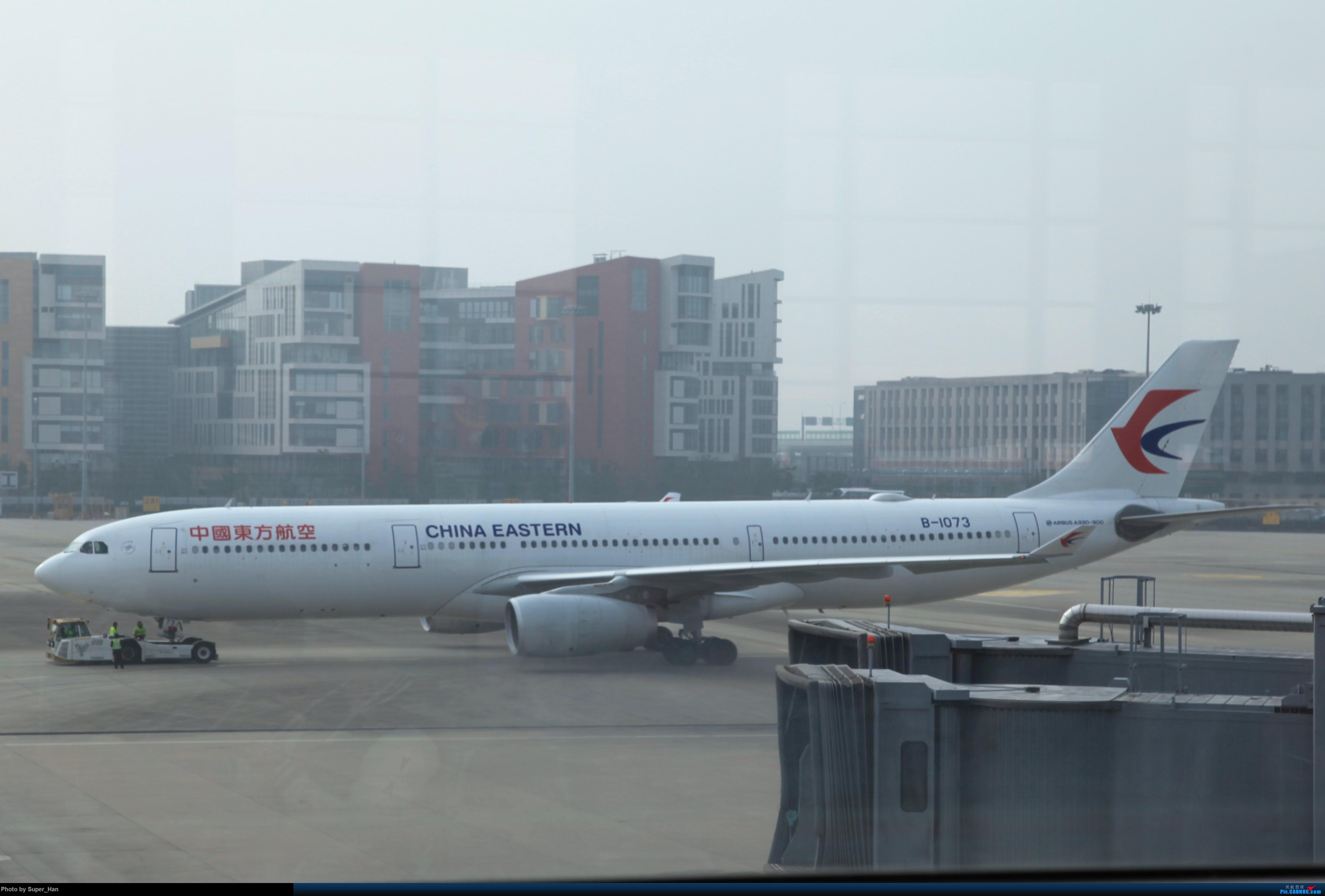 Re:[原创]2019虹桥出发飞北京第一拍 AIRBUS A330-300 B-1073 中国上海虹桥国际机场
