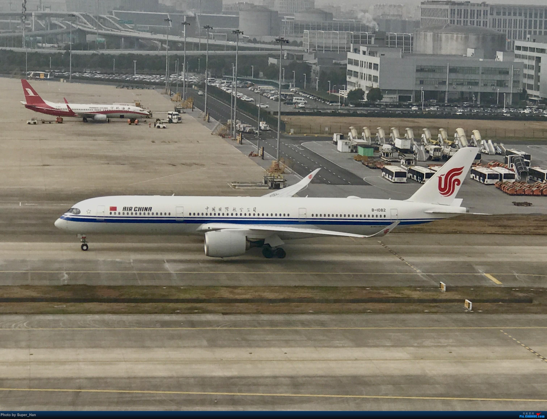 Re:[原创]2019虹桥出发飞北京第一拍 AIRBUS A350-900 B-1082 中国上海虹桥国际机场