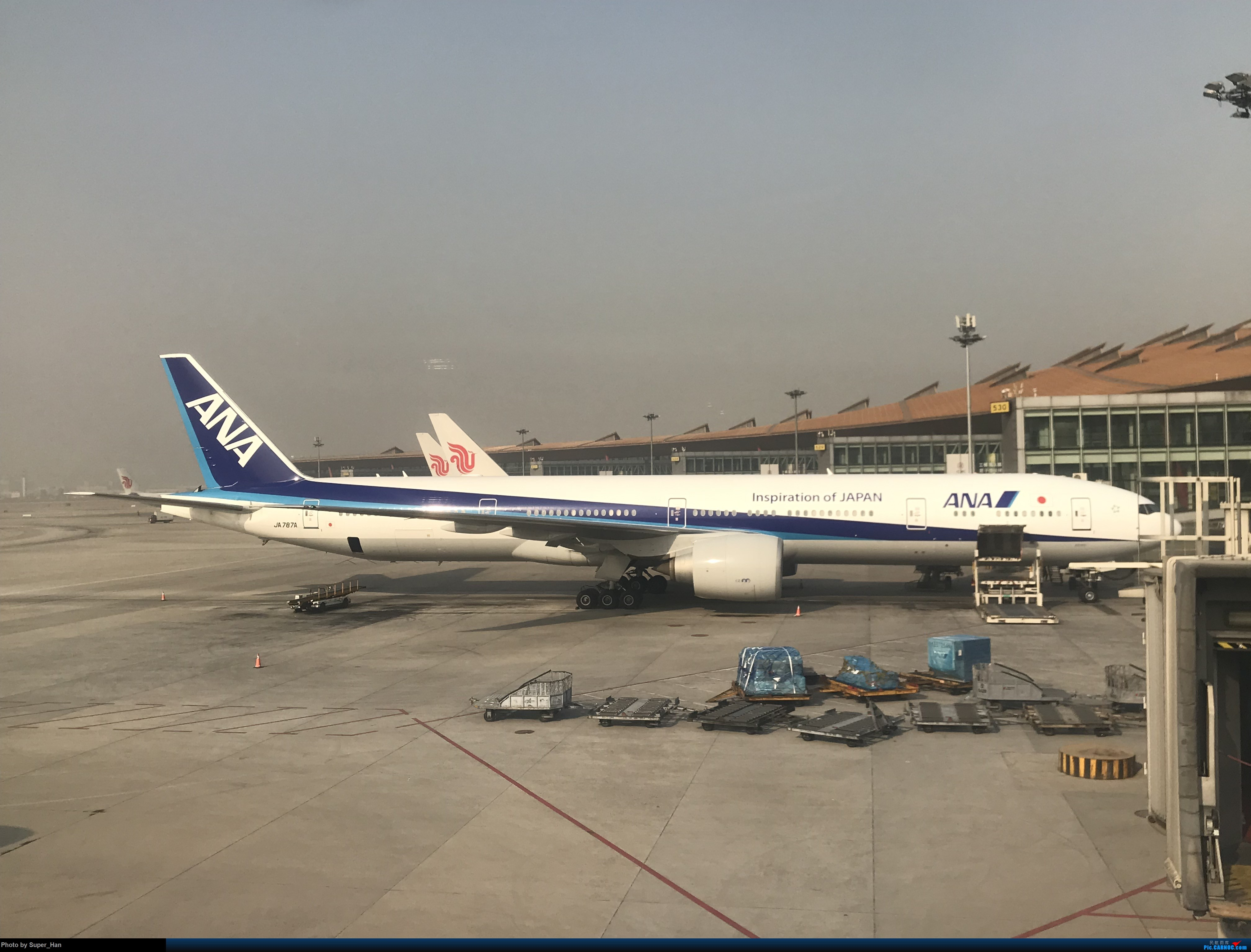 Re:[原创]2019虹桥出发飞北京第一拍 BOEING 777-300ER JA787A 中国北京首都国际机场