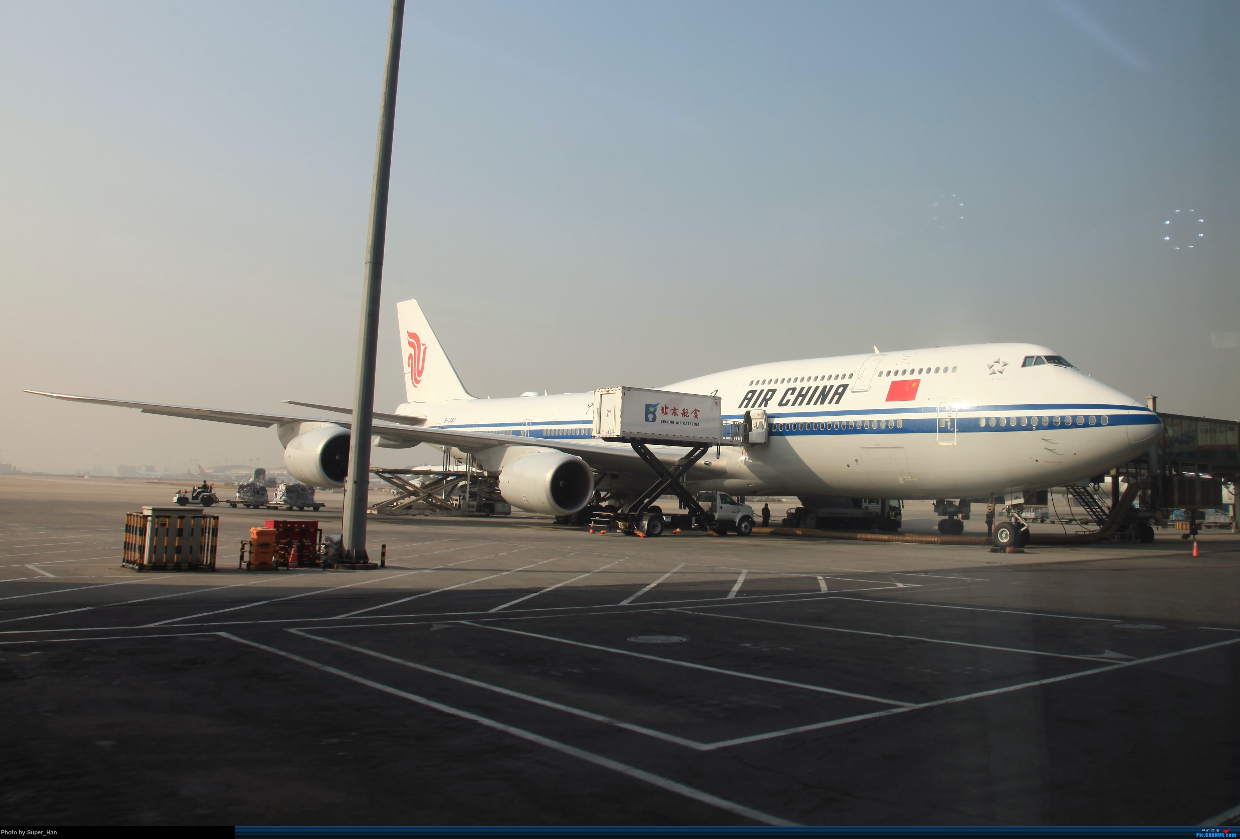 Re:[原创]2019虹桥出发飞北京第一拍 BOEING 747-8I B-2482 中国北京首都国际机场