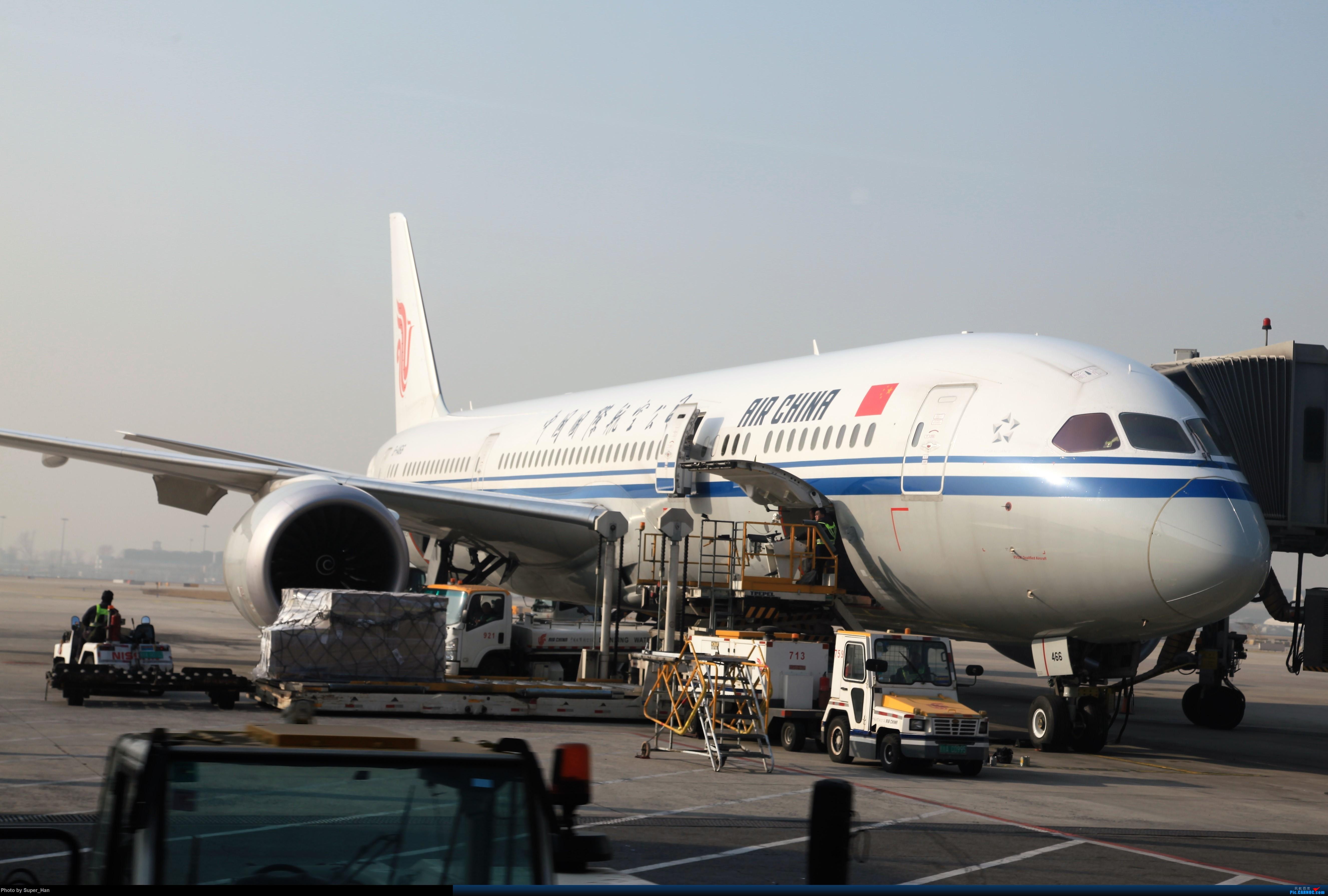Re:[原创]2019虹桥出发飞北京第一拍 BOEING 787-9 B-1466 中国北京首都国际机场