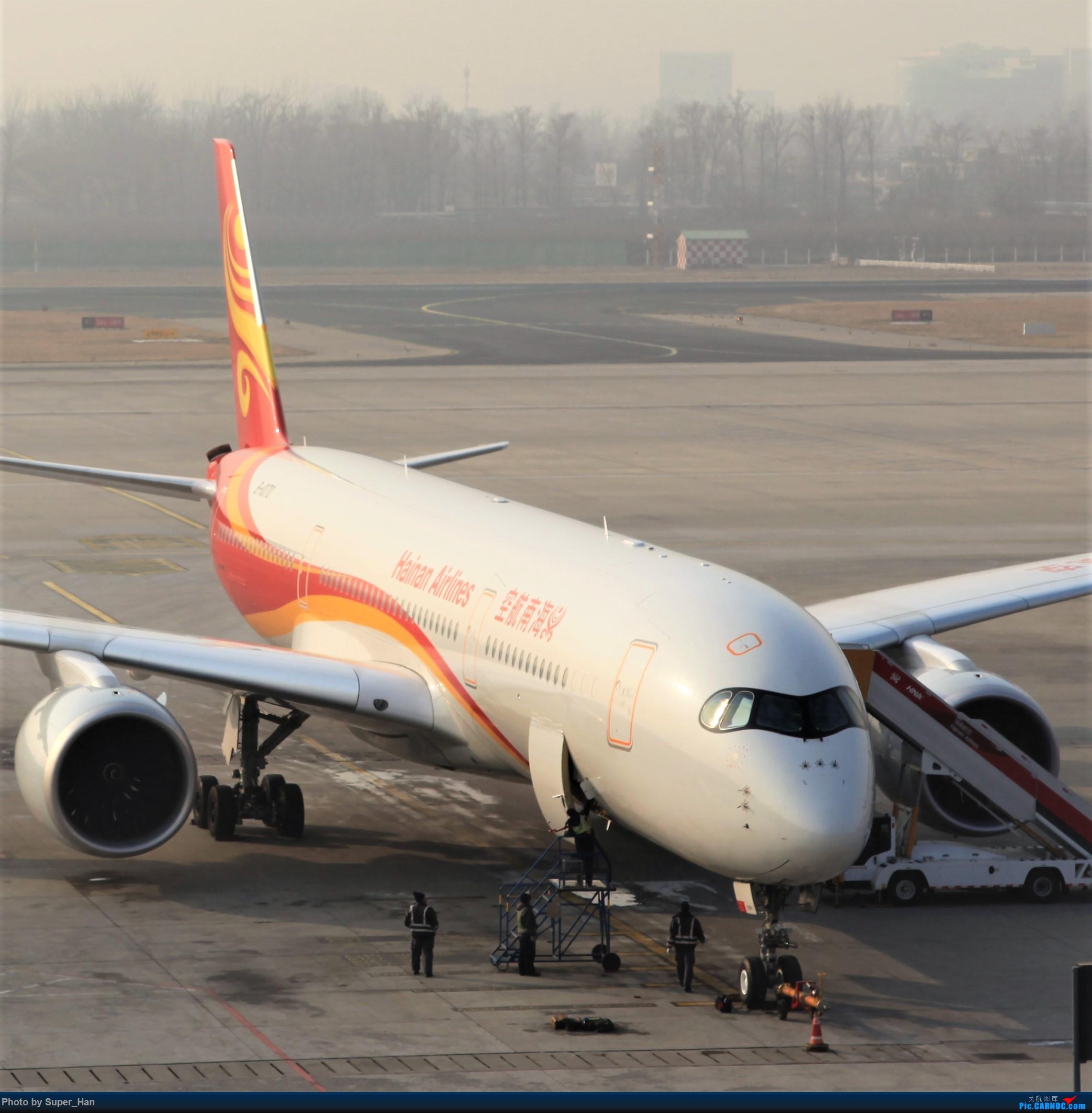 Re:[原创]2019虹桥出发飞北京第一拍 AIRBUS A350-900 B-1070 中国北京首都国际机场
