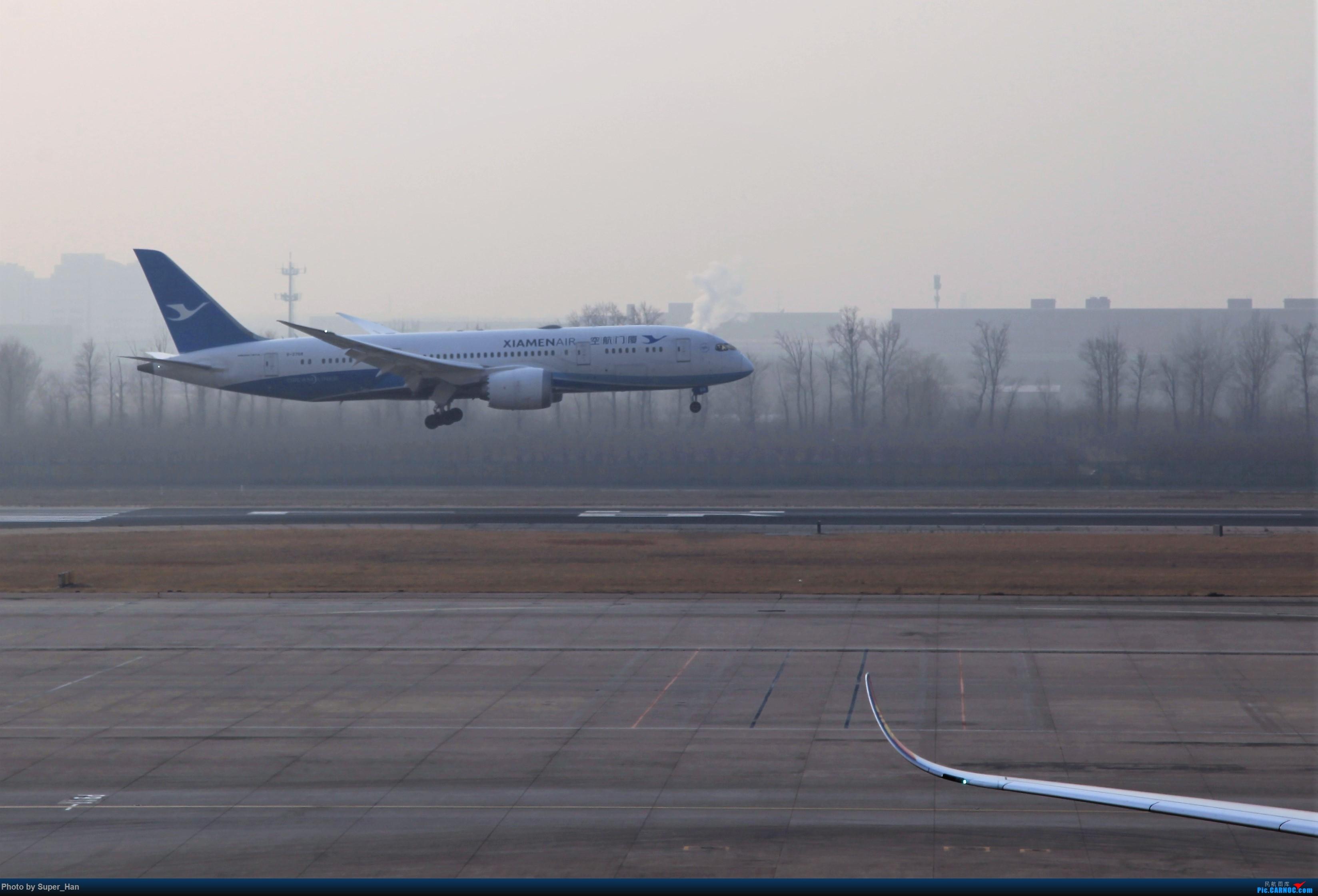 Re:[原创]2019虹桥出发飞北京第一拍 BOEING 787-8 B-2768 中国北京首都国际机场