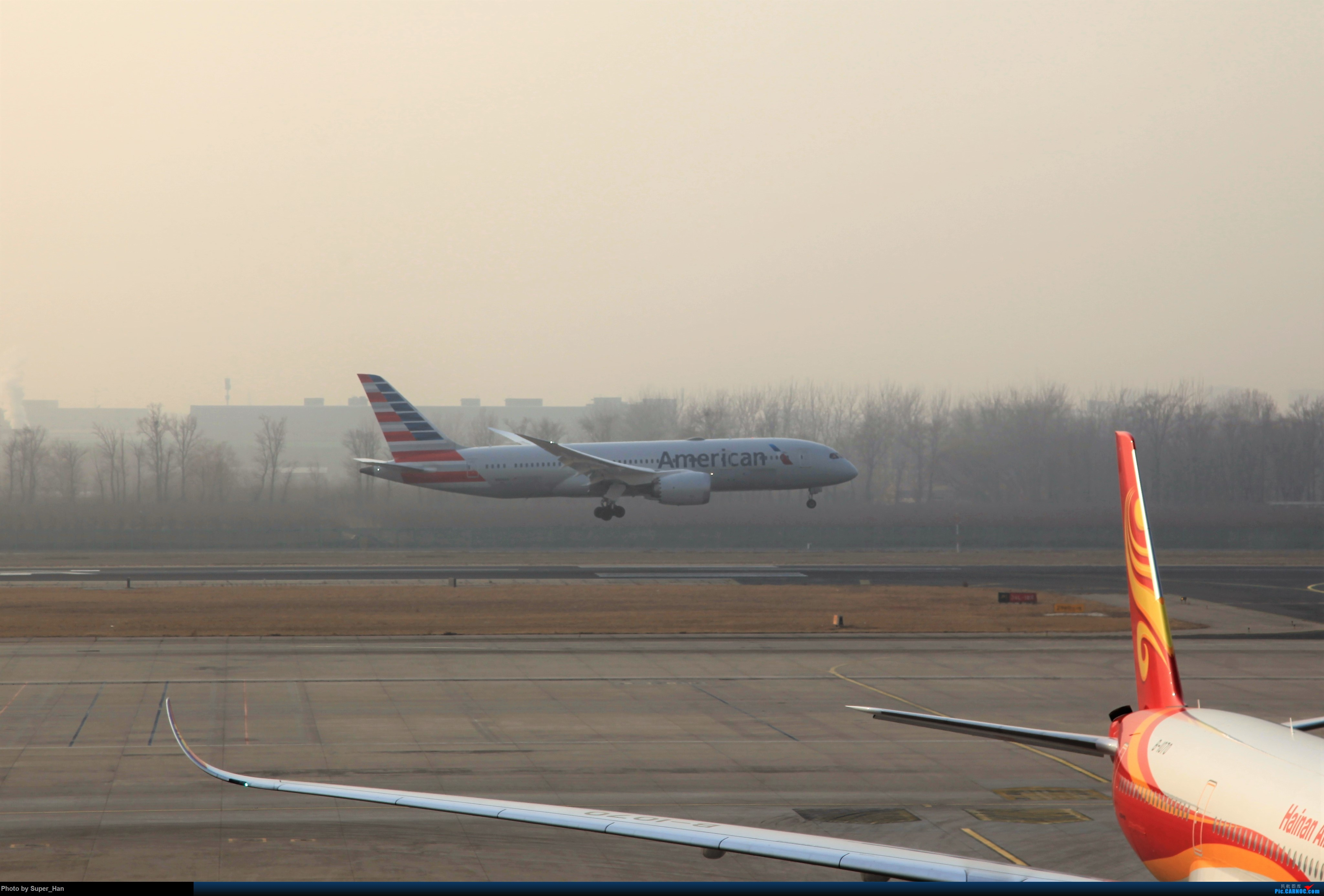 Re:[原创]2019虹桥出发飞北京第一拍 BOEING 787-8  中国北京首都国际机场