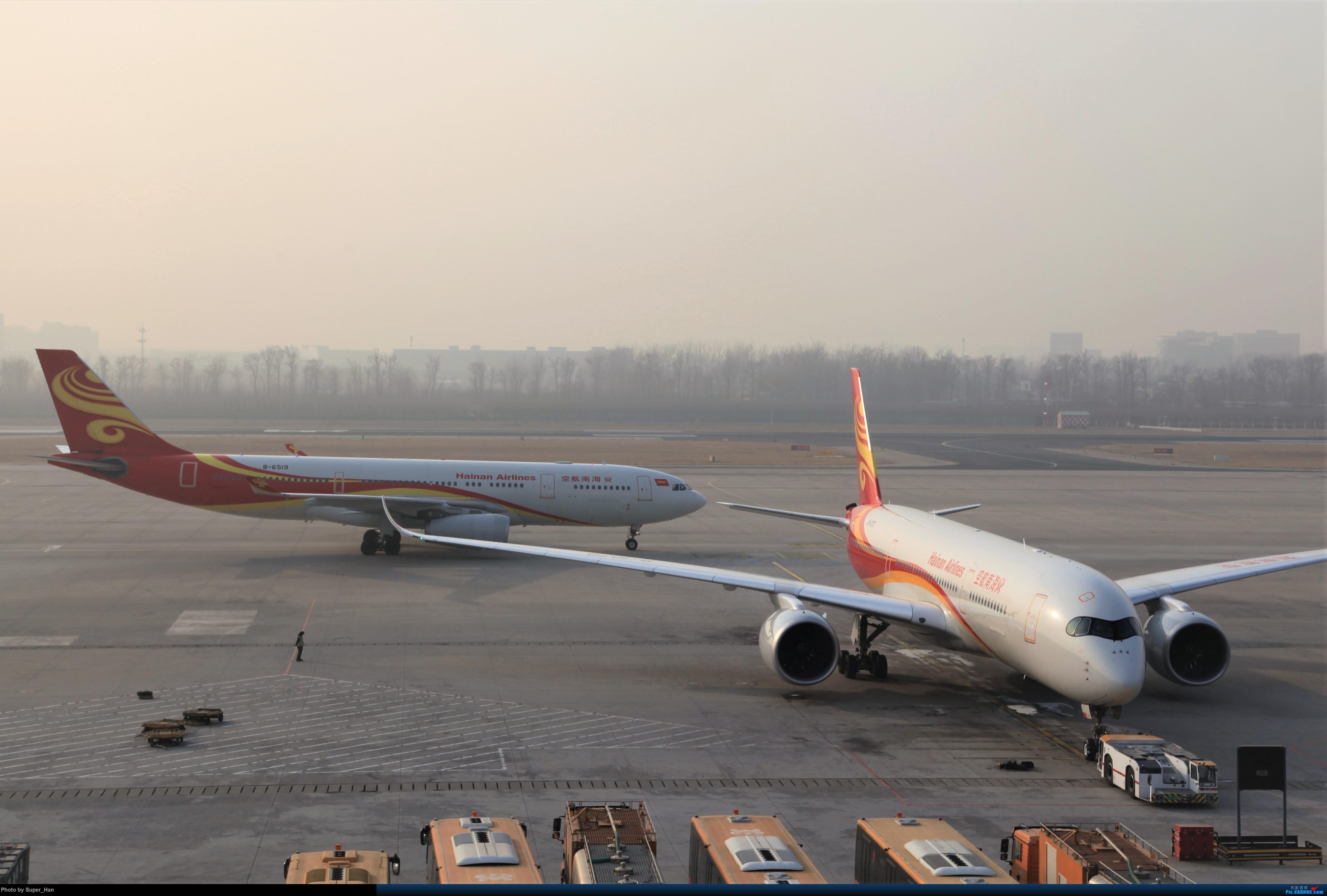 Re:[原创]2019虹桥出发飞北京第一拍 AIRBUS A330-200 B-6519 中国北京首都国际机场