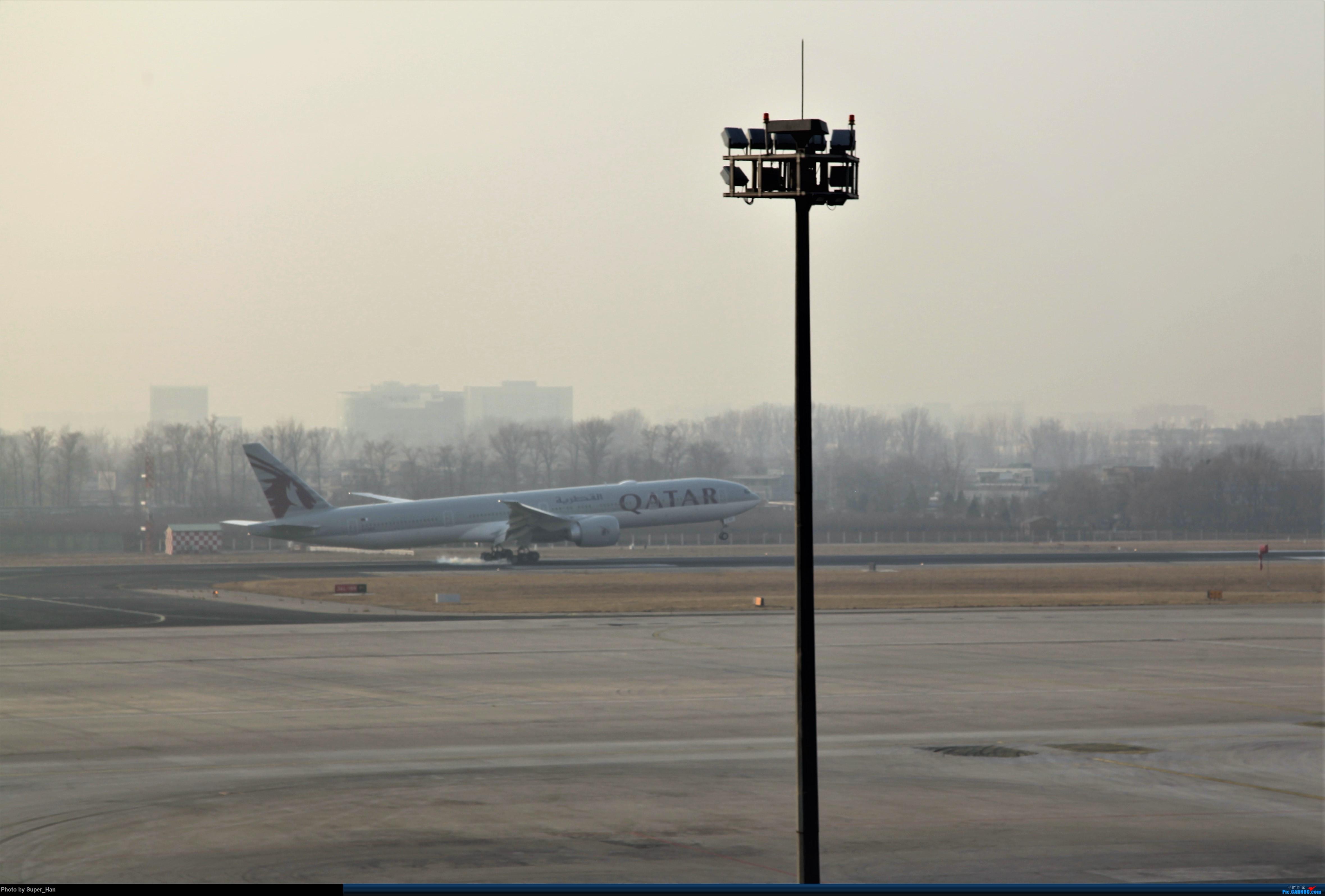 Re:[原创]2019虹桥出发飞北京第一拍 BOEING 777-300ER  中国北京首都国际机场