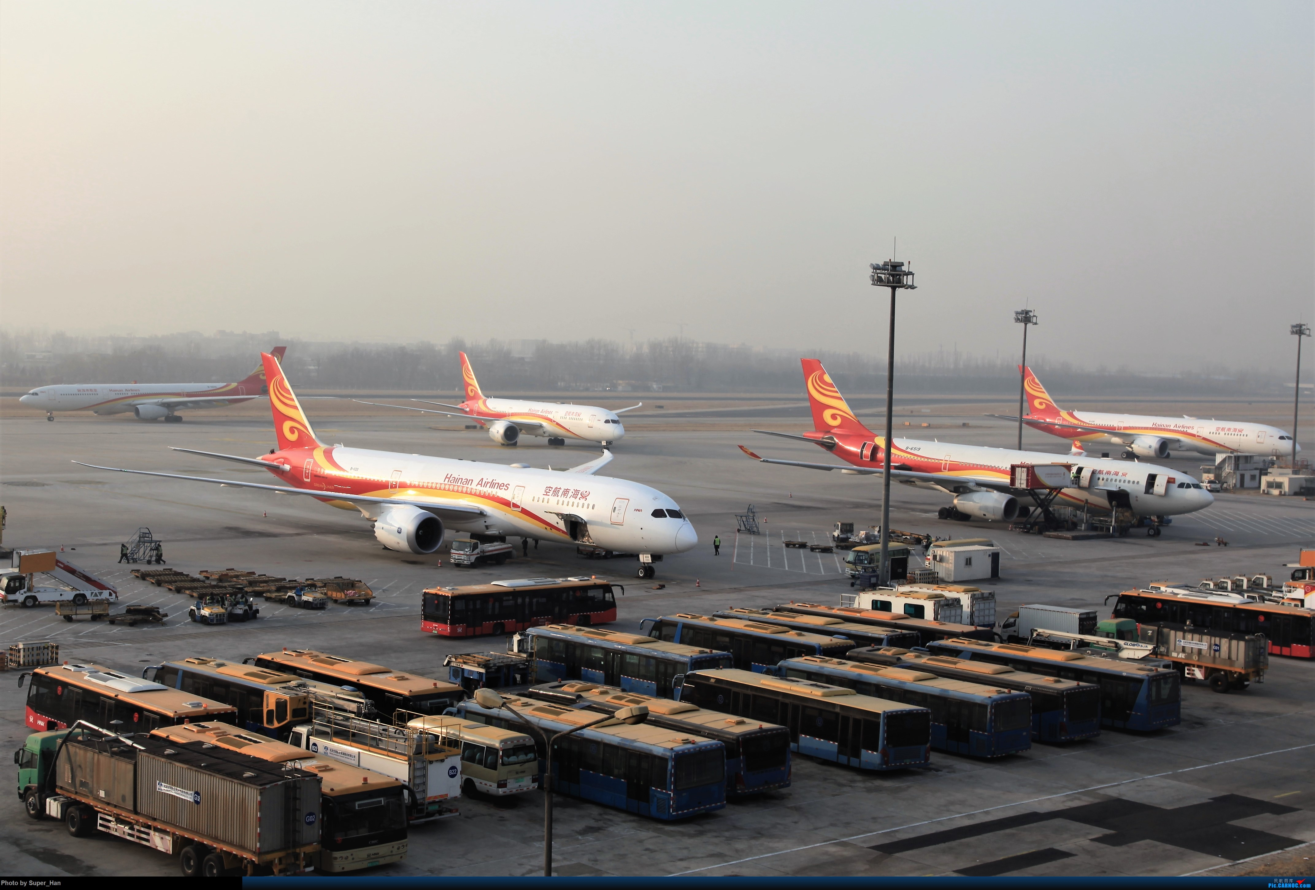 Re:[原创]2019虹桥出发飞北京第一拍 BOEING 787-9 B-1133 中国北京首都国际机场