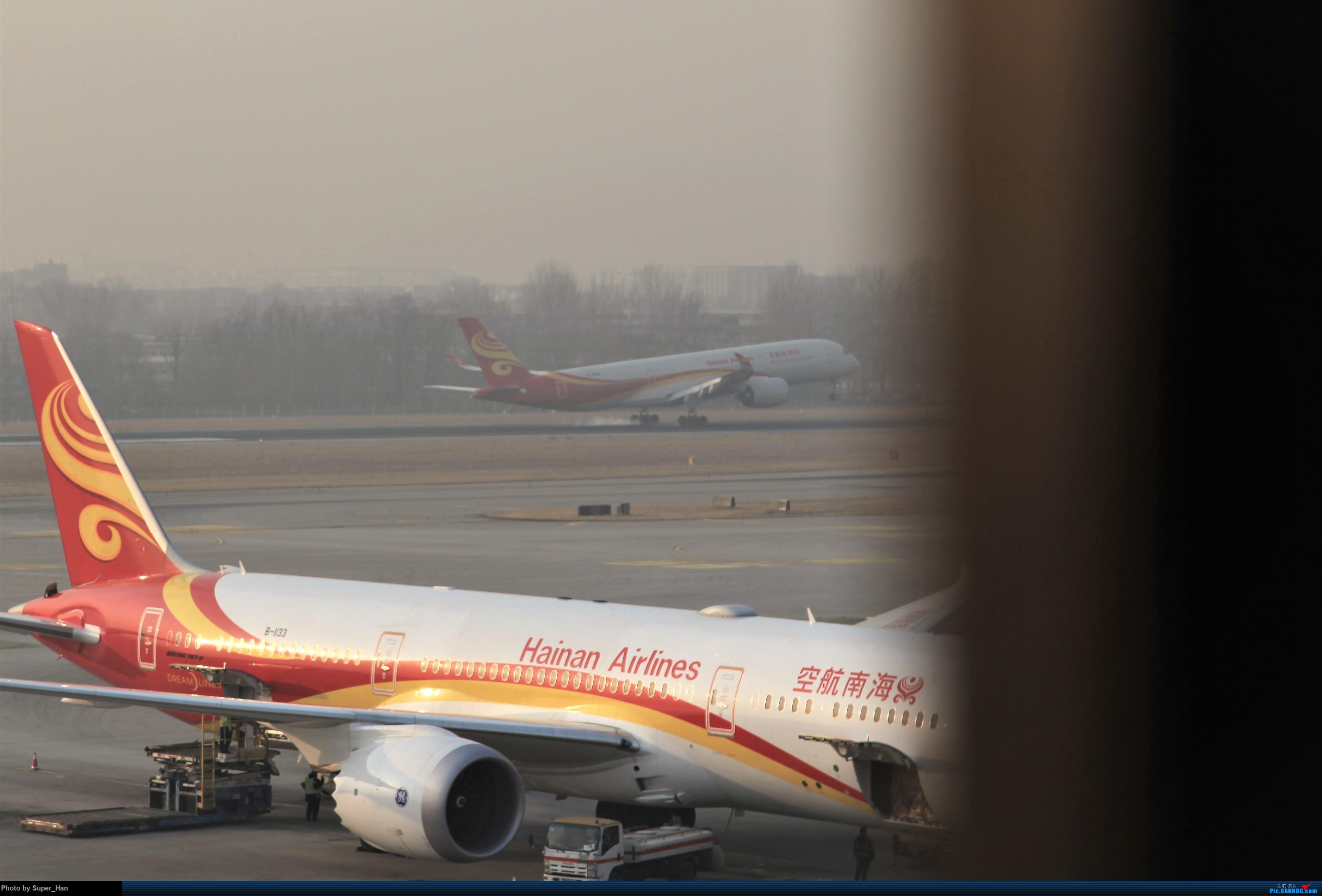 Re:[原创]2019虹桥出发飞北京第一拍 AIRBUS A350-900 B-1069 中国北京首都国际机场