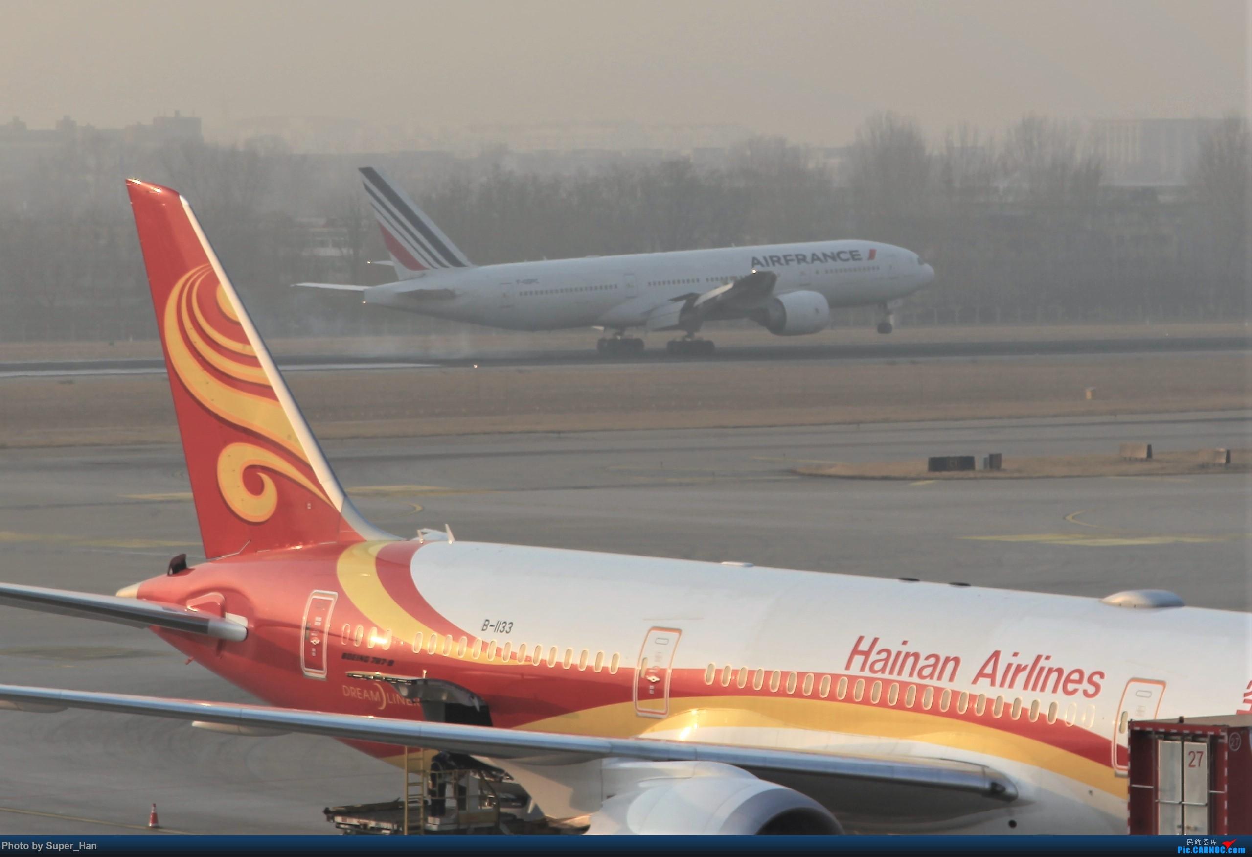 Re:[原创]2019虹桥出发飞北京第一拍 BOEING 777-200ER F-GSPC 中国北京首都国际机场