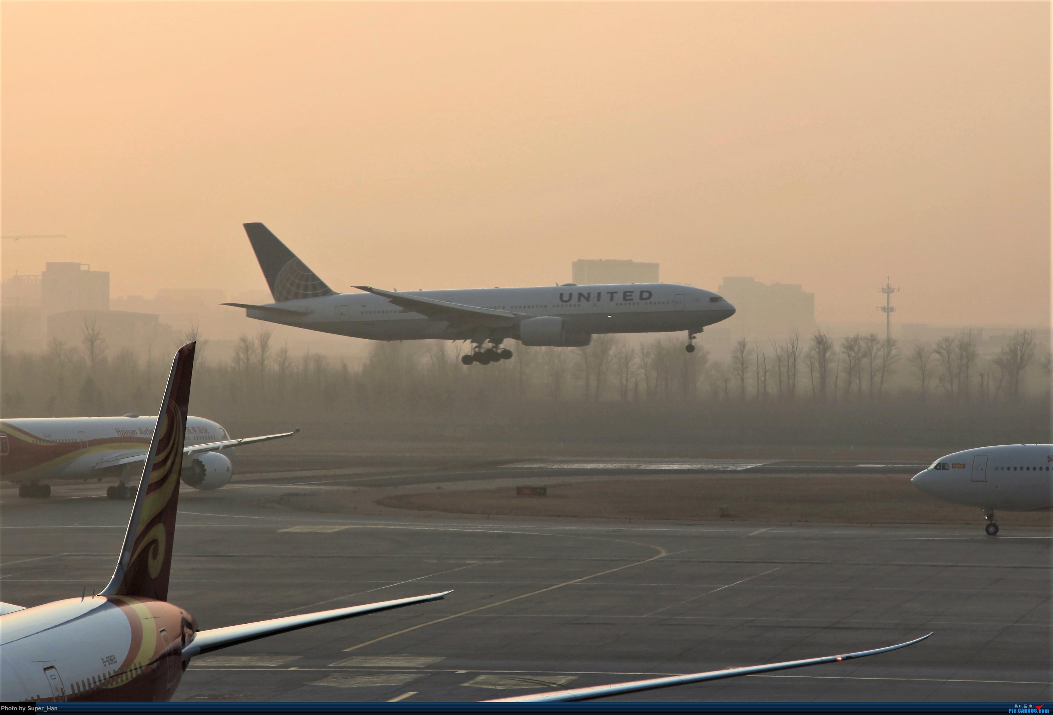 Re:[原创]2019虹桥出发飞北京第一拍 BOEING 777-200ER  中国北京首都国际机场