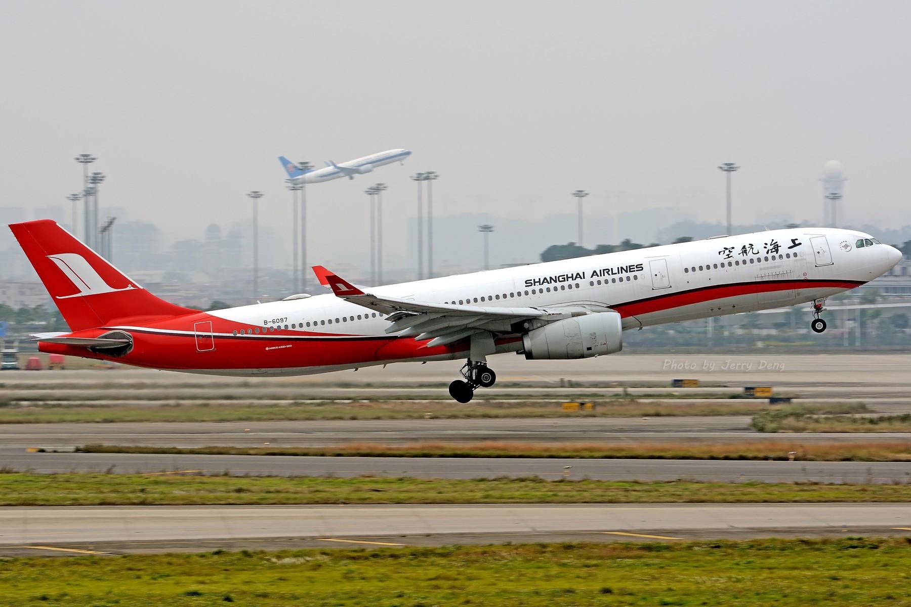 Re:[原创]【多图党】CAN作业水泥天解决有无—皖A·MU350 AIRBUS A330-300 B-6097 中国广州白云国际机场