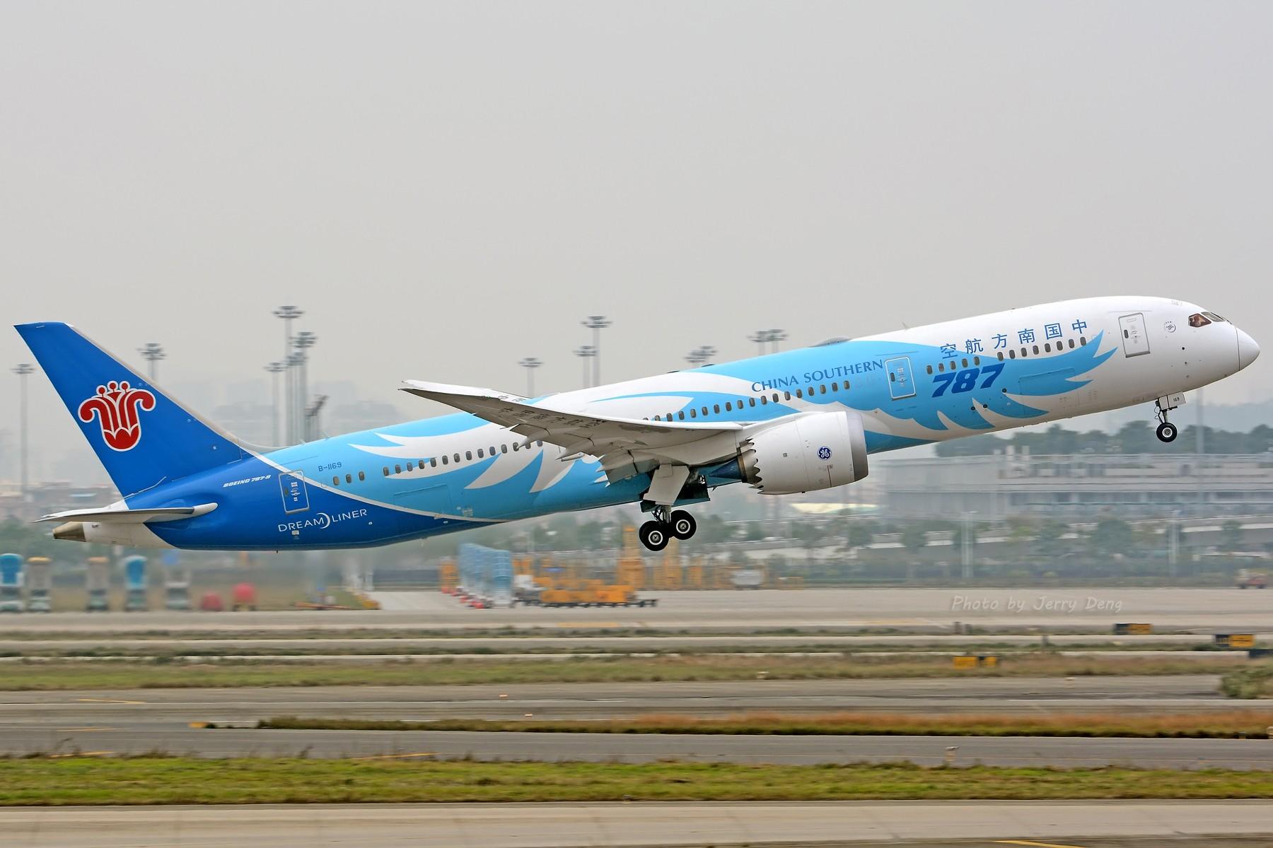 Re:[原创]【多图党】CAN作业水泥天解决有无—皖A·MU350 BOEING 787-9 B-1169 中国广州白云国际机场